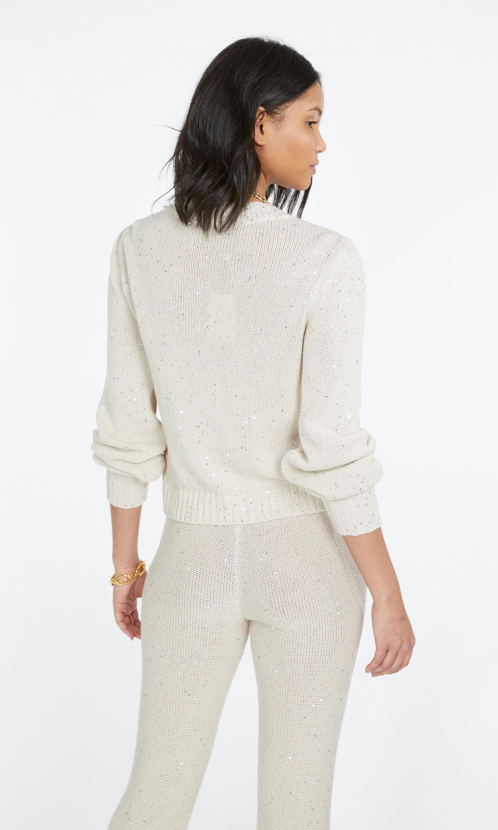 Lowell Sequin Knitted Cardigan 6