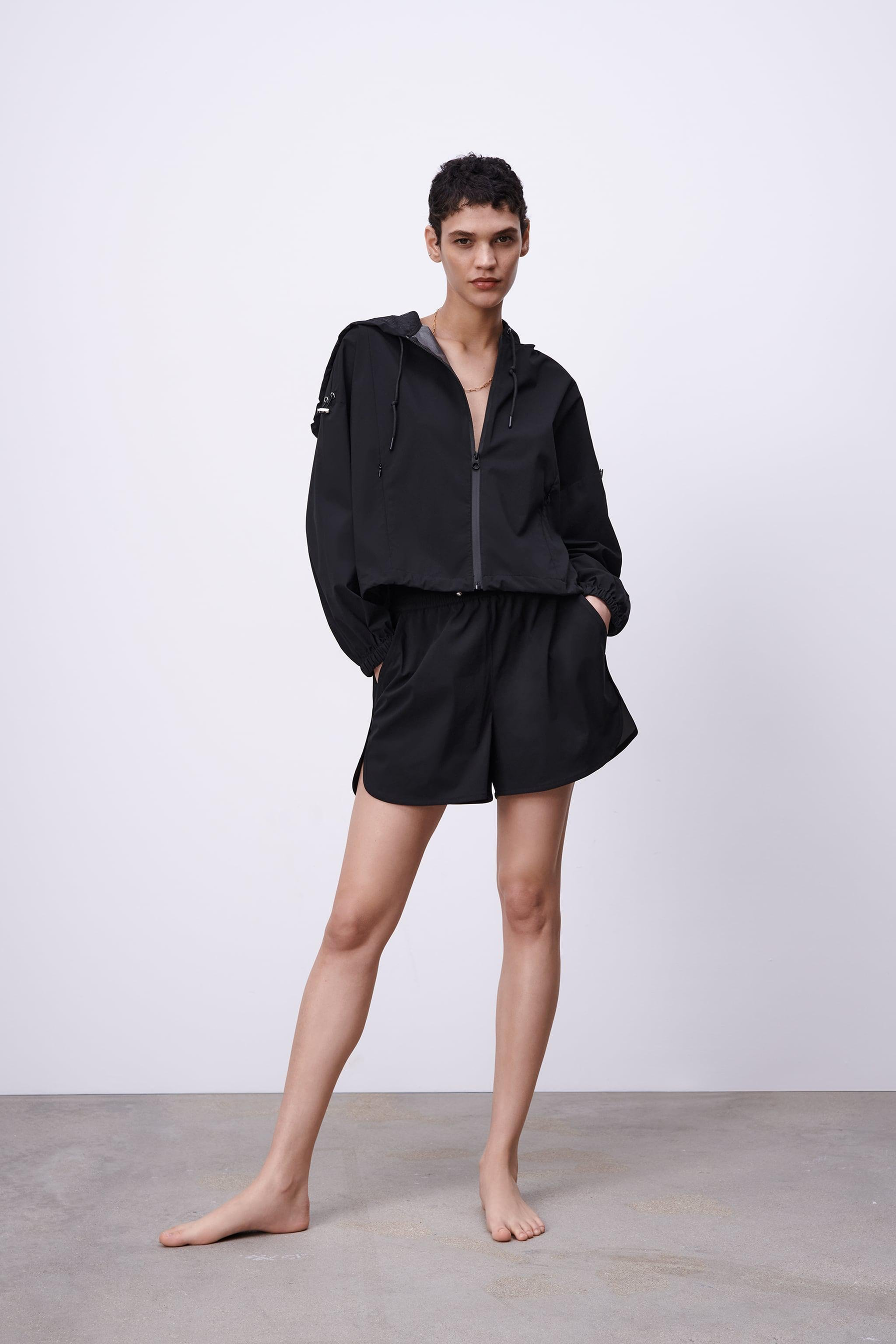 WATER REPELLENT CROPPED JACKET