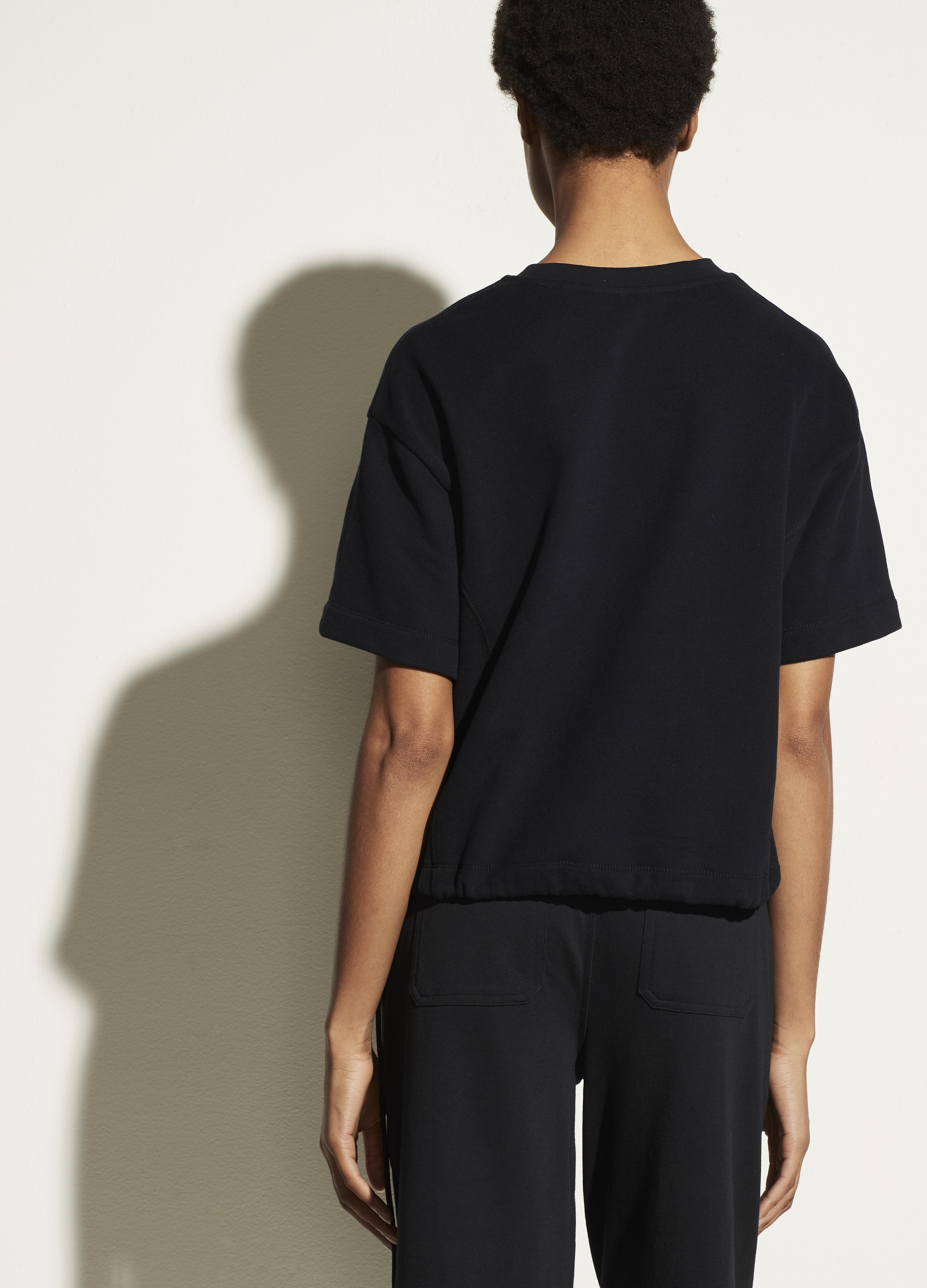 Wide Sleeve Drawcord Pullover 2