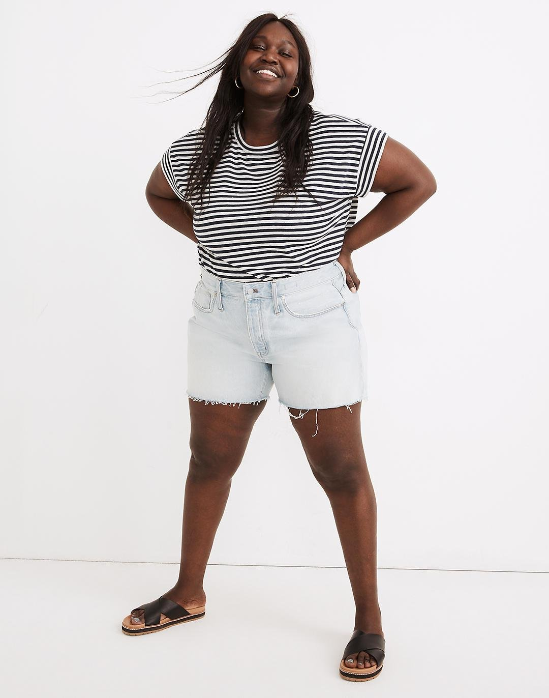 The Plus Momjean Short in Fitzgerald Wash