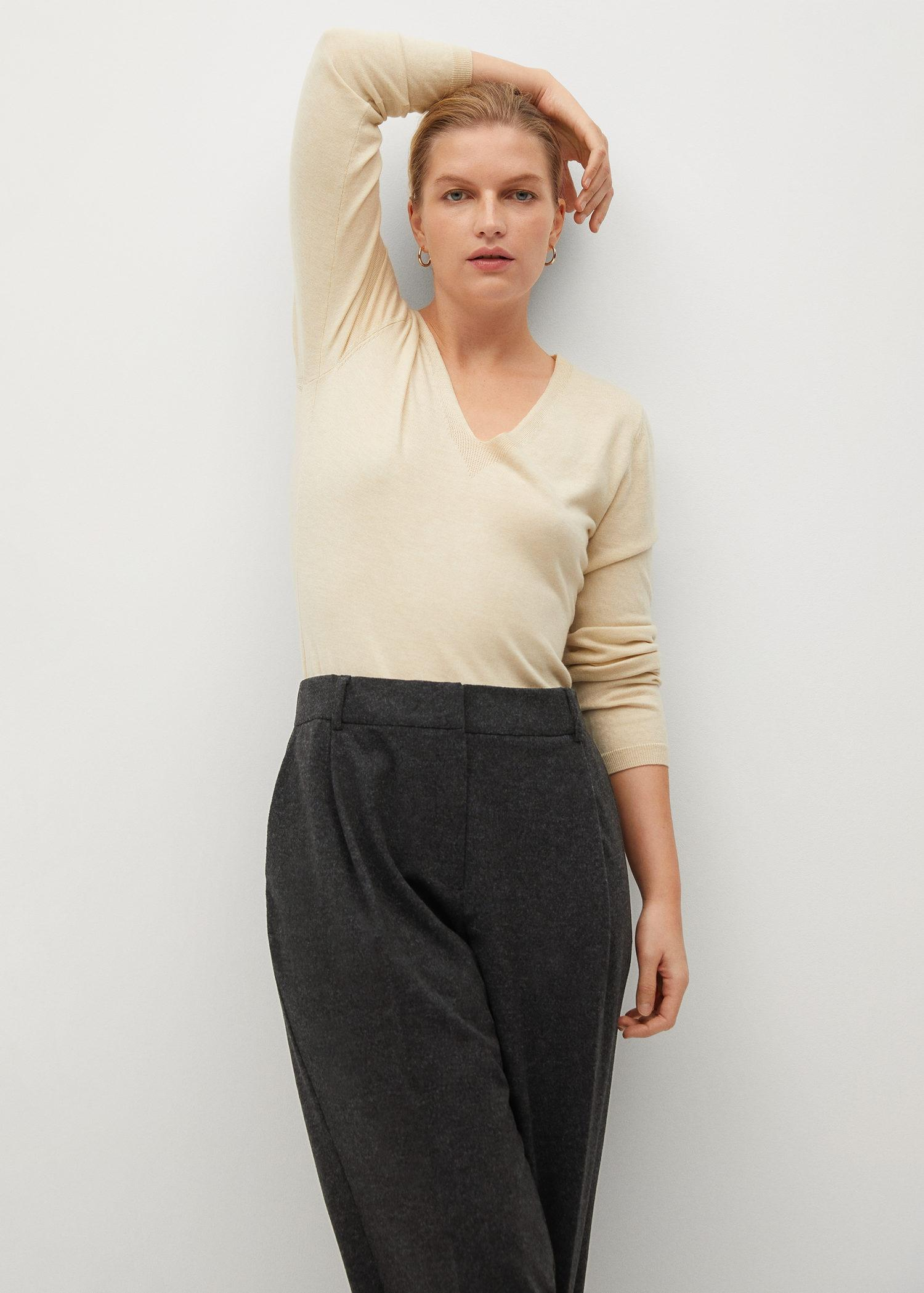 Flared knitted pants 3