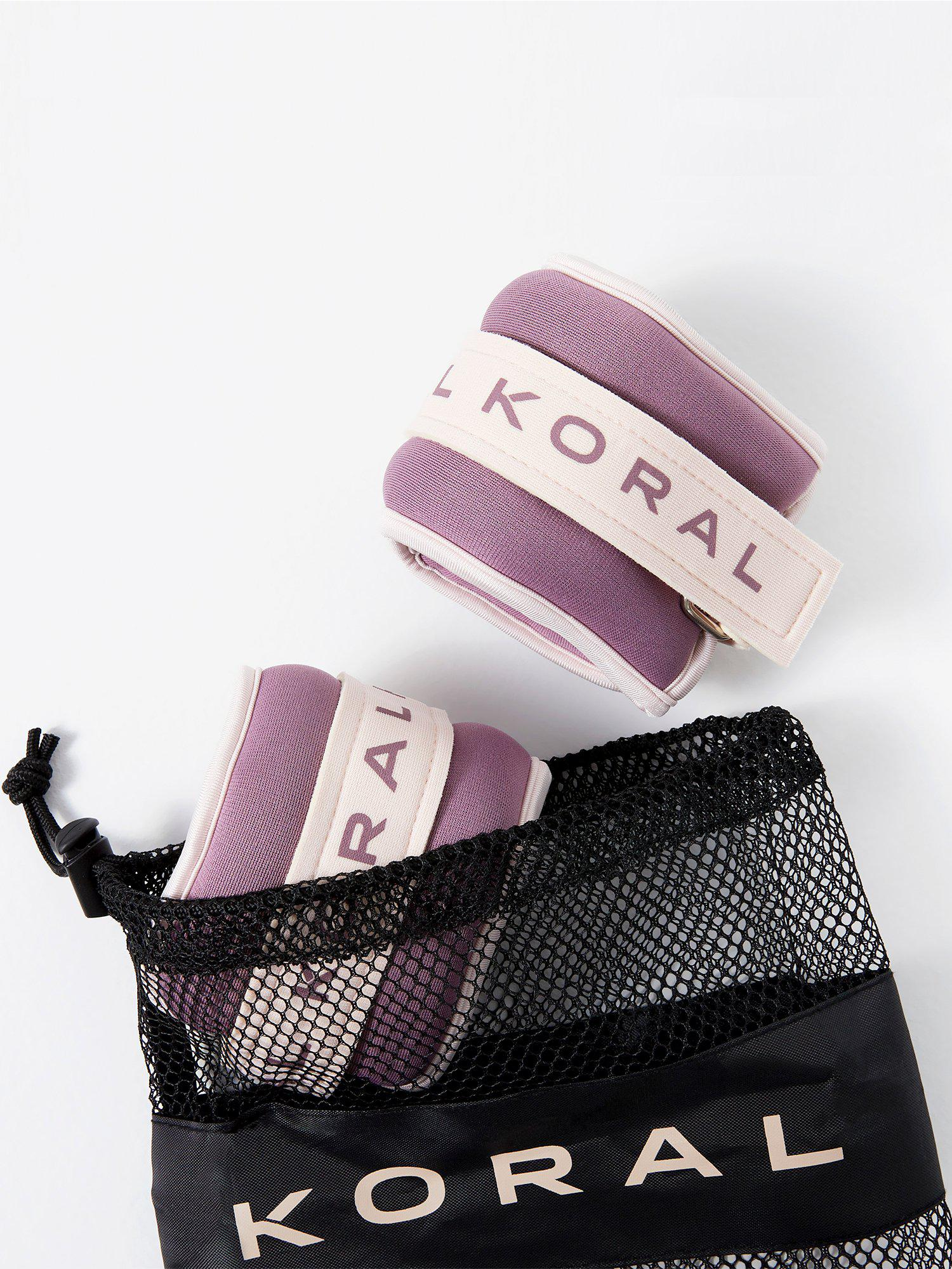 Koral Logo Ankle Weights - 1lb Weights