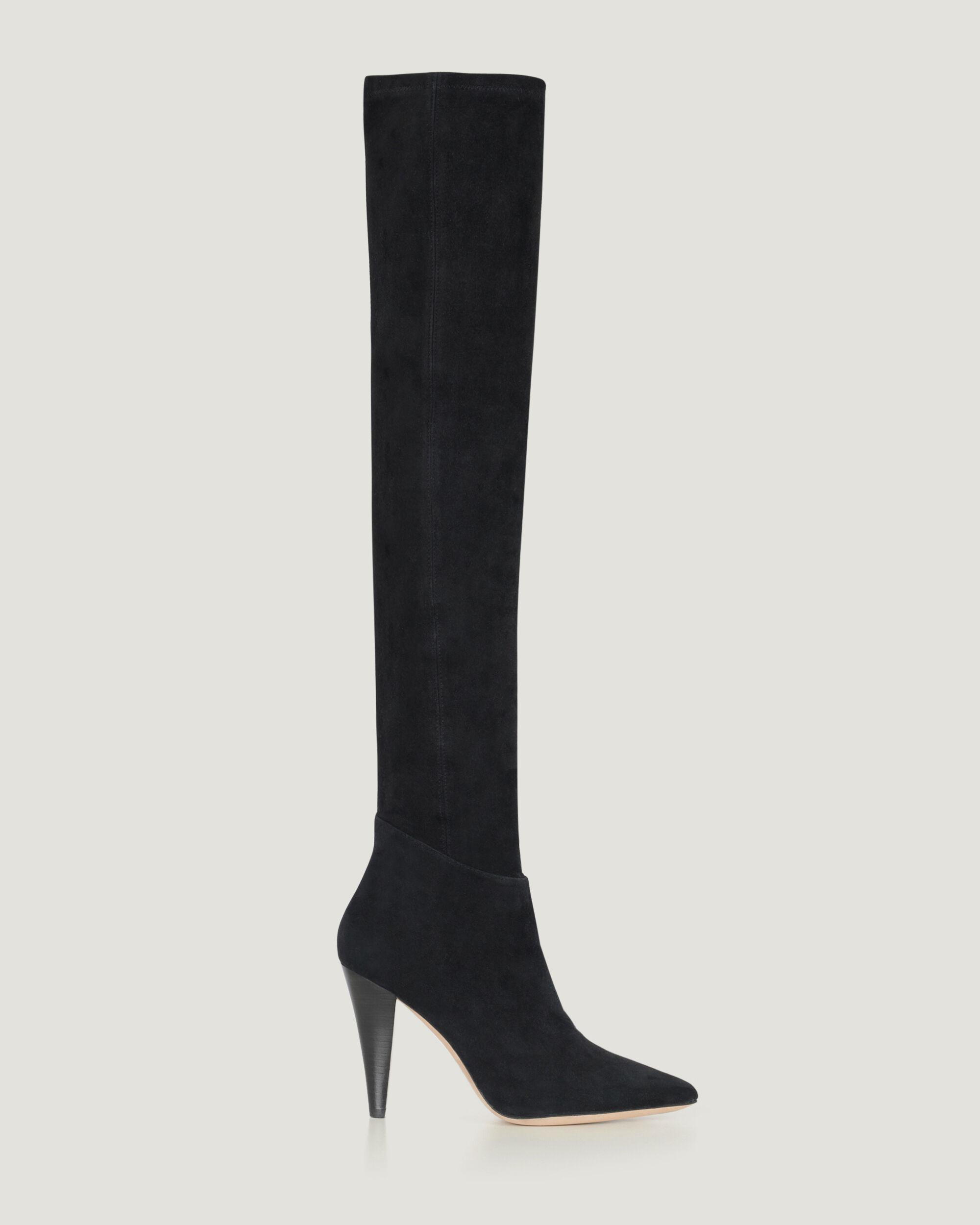 BABEL SUEDE OVER THE KNEE BOOTS