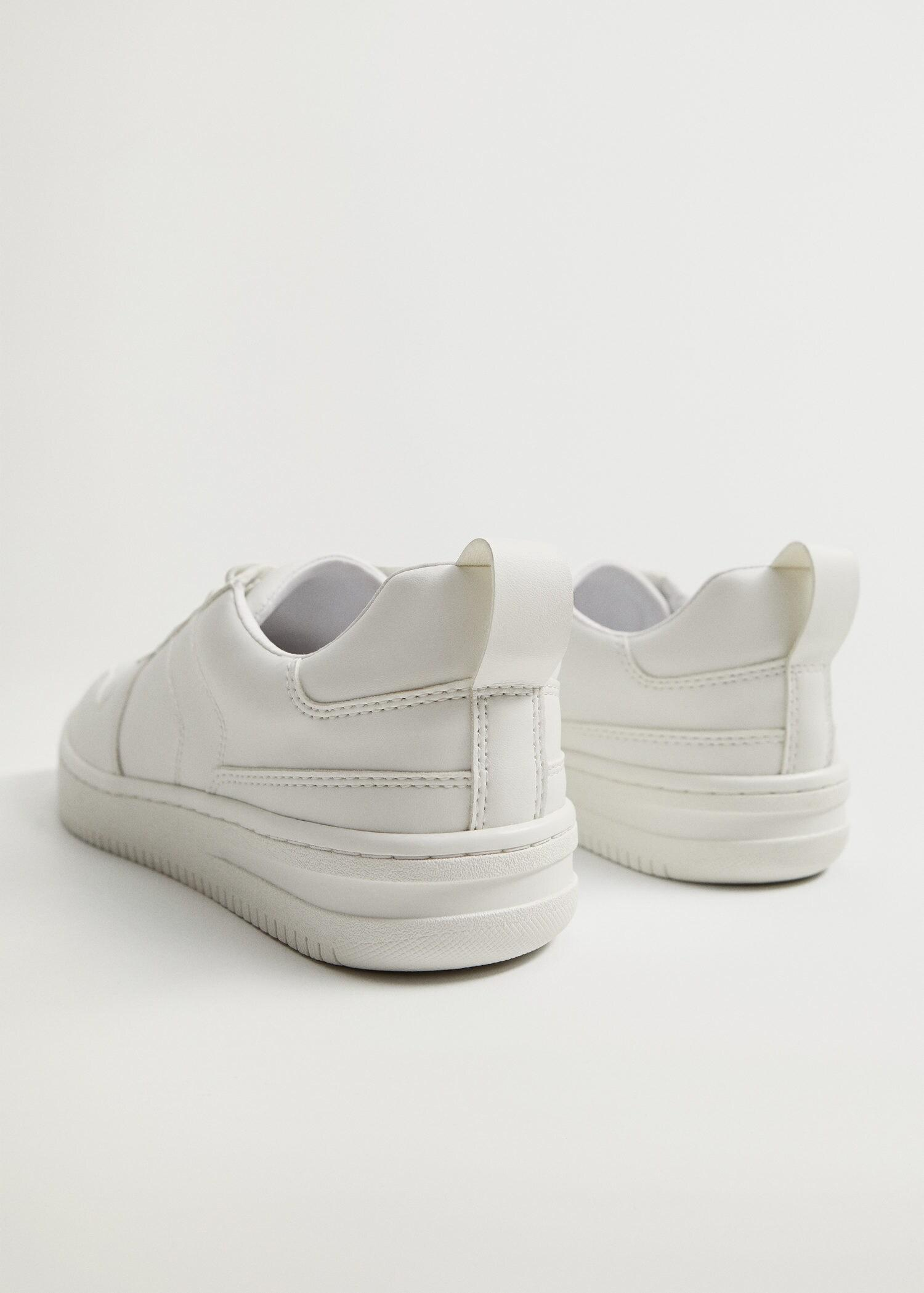 Platform lace-up sneakers 5