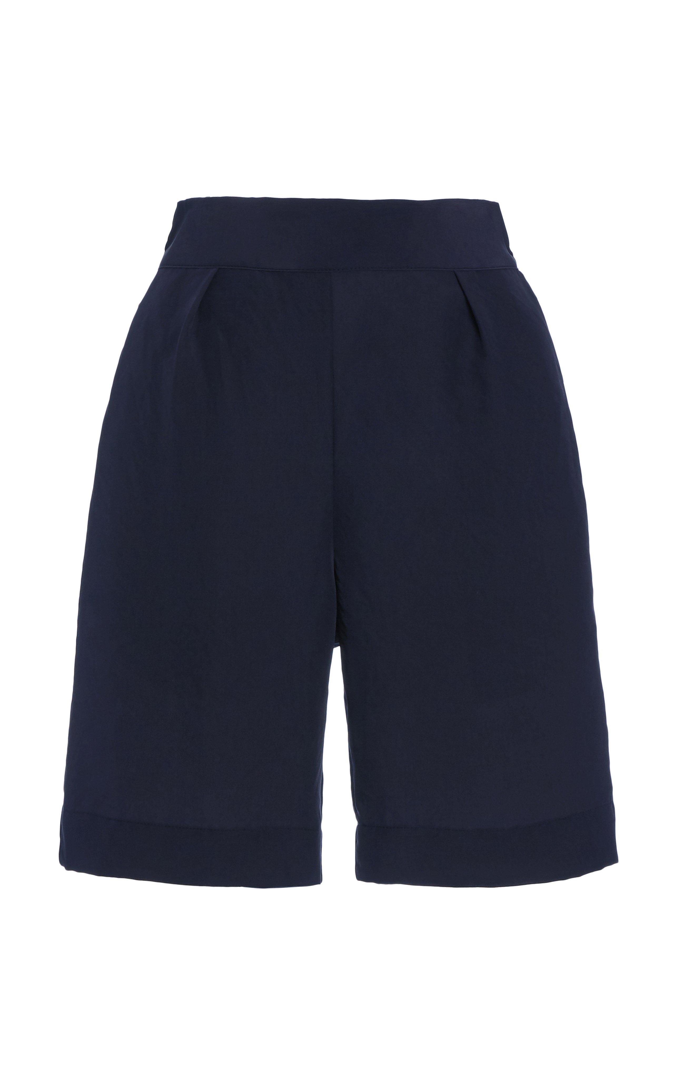 The High-Waisted Boardshort in Cupro