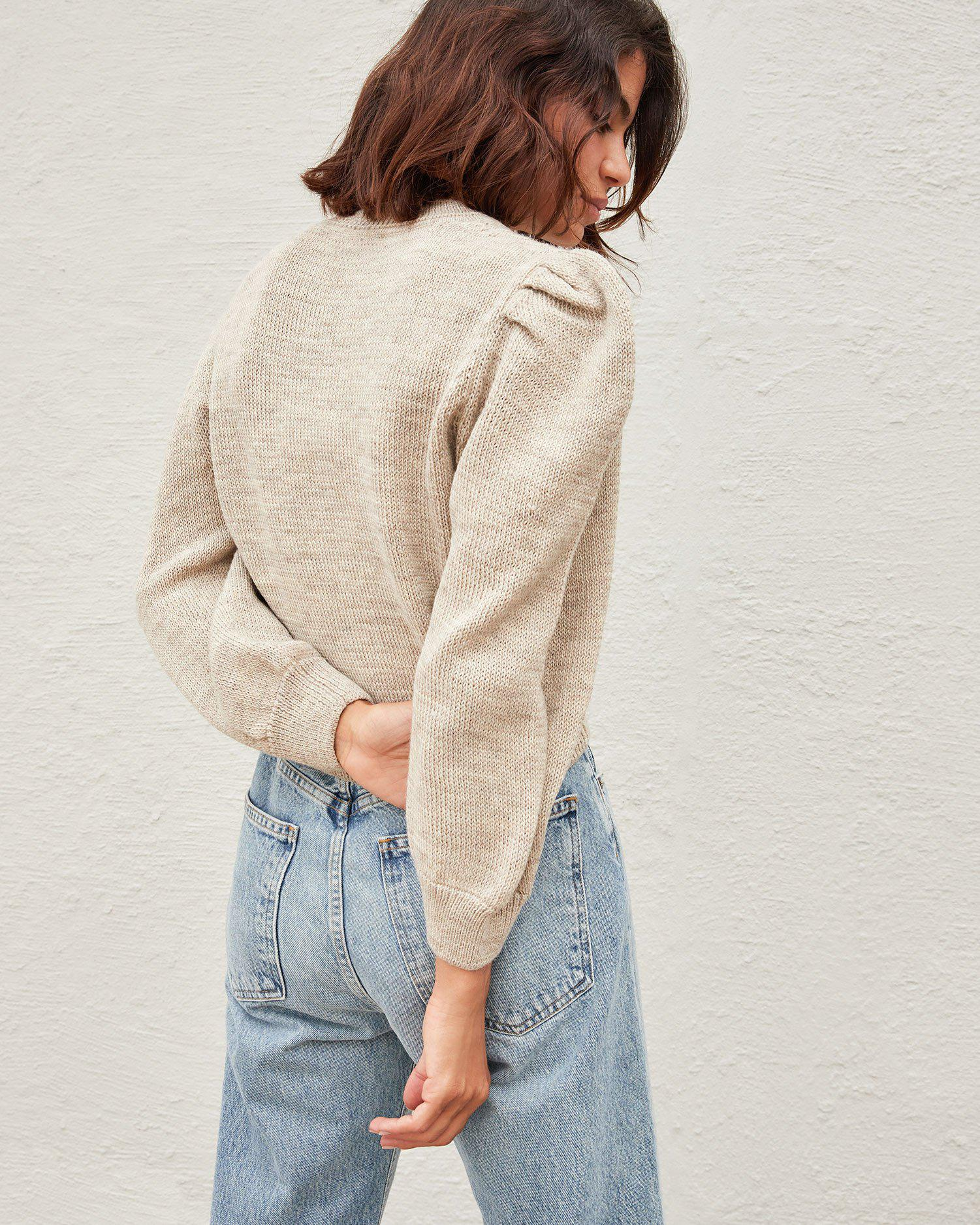Knits for Good Oatmeal Sweater 2