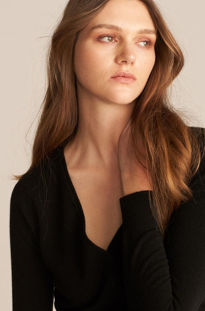BARELY THERE CASHMERE CARDIGAN