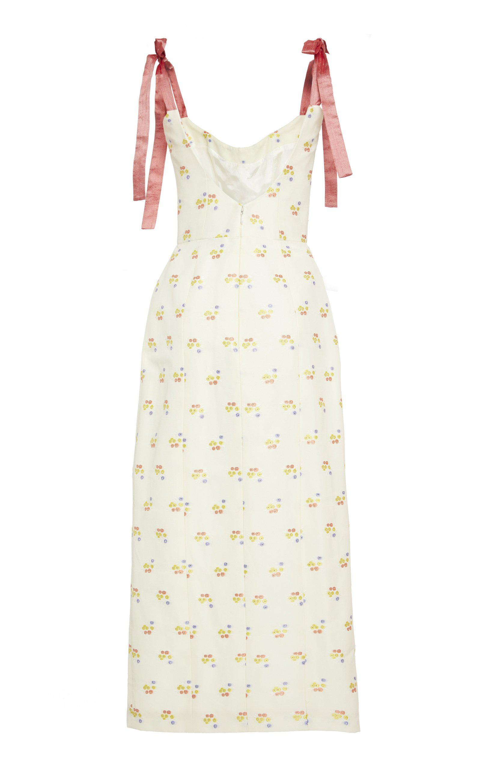 Darcy Floral Embroidered Dress 2