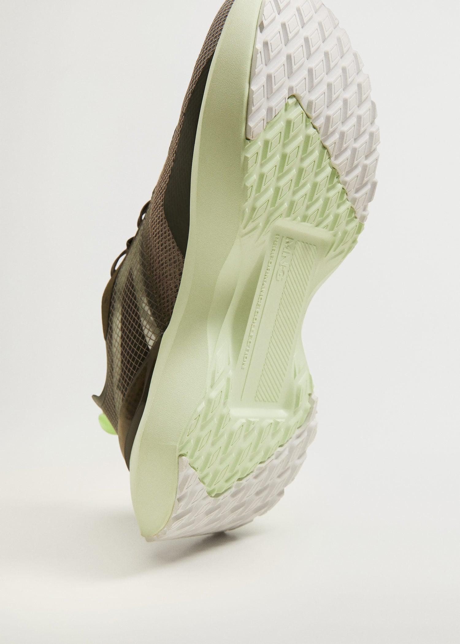 Shoes with transparent panels 5
