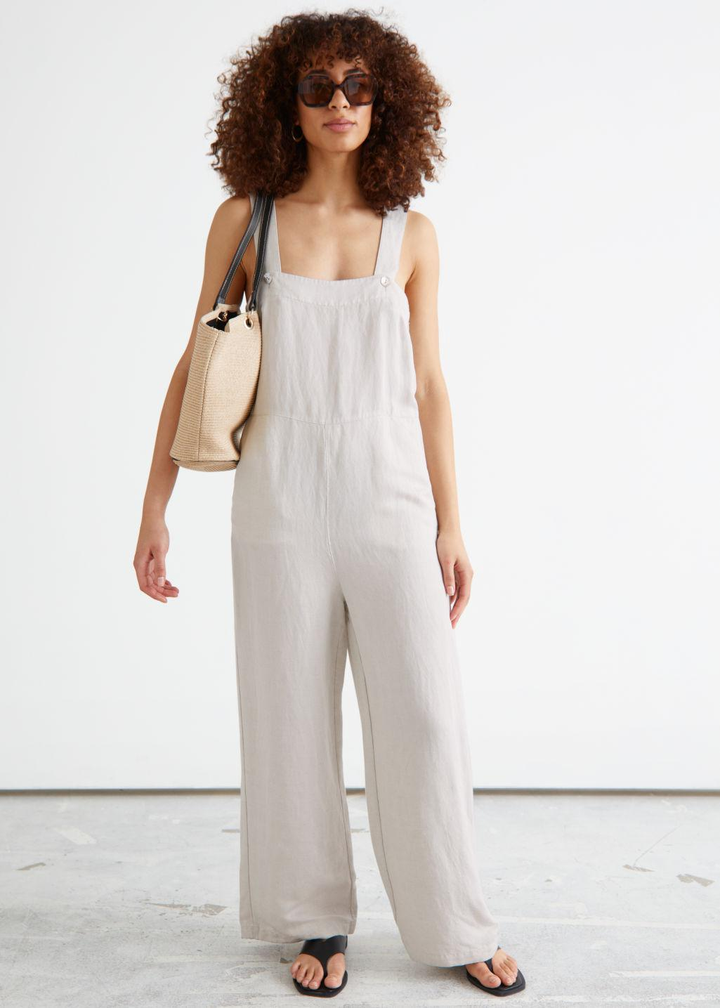 Relaxed Square Neck Jumpsuit