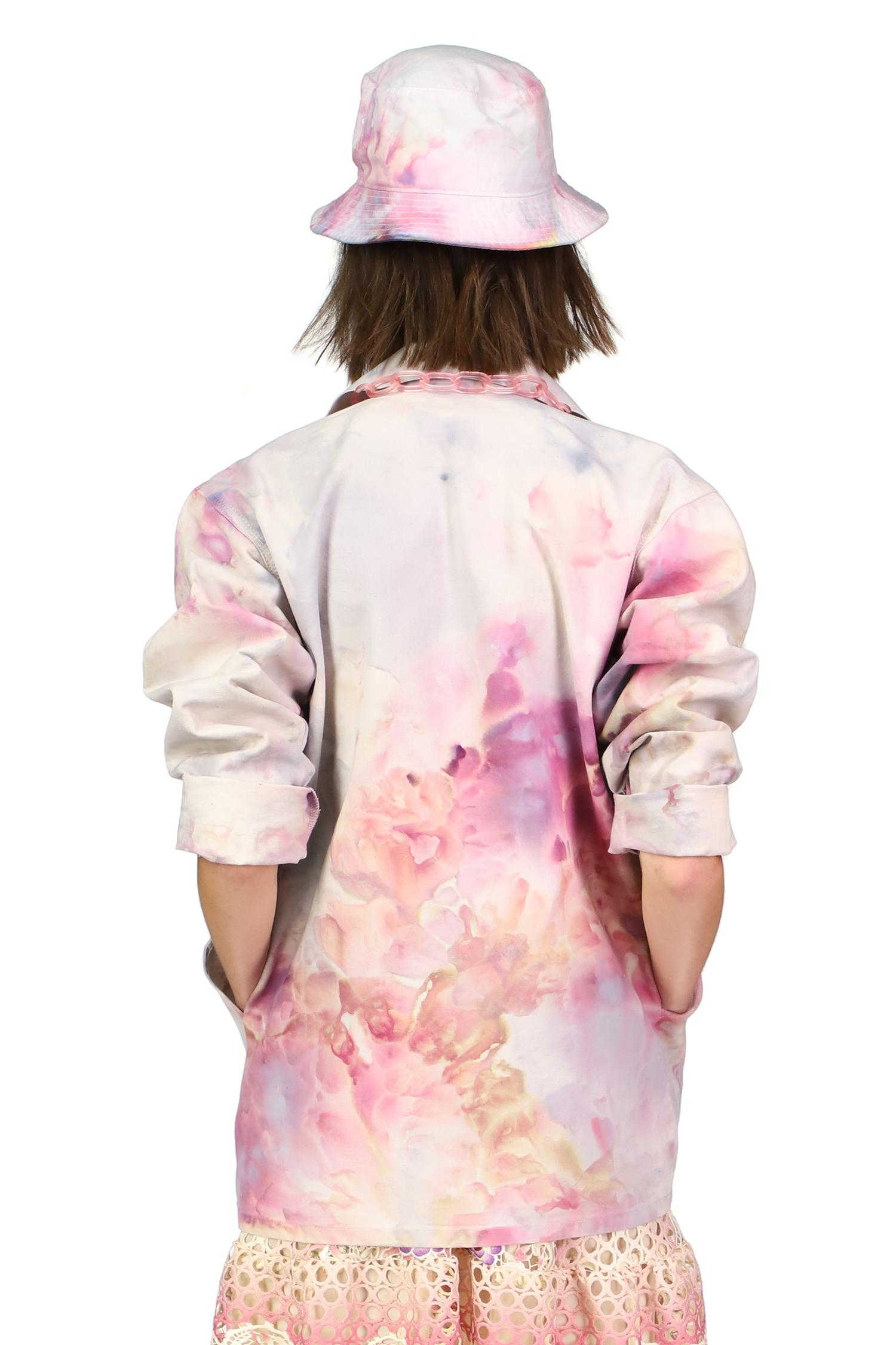 Hand Tie Dyed Vintage Dead Stock Jacket 4