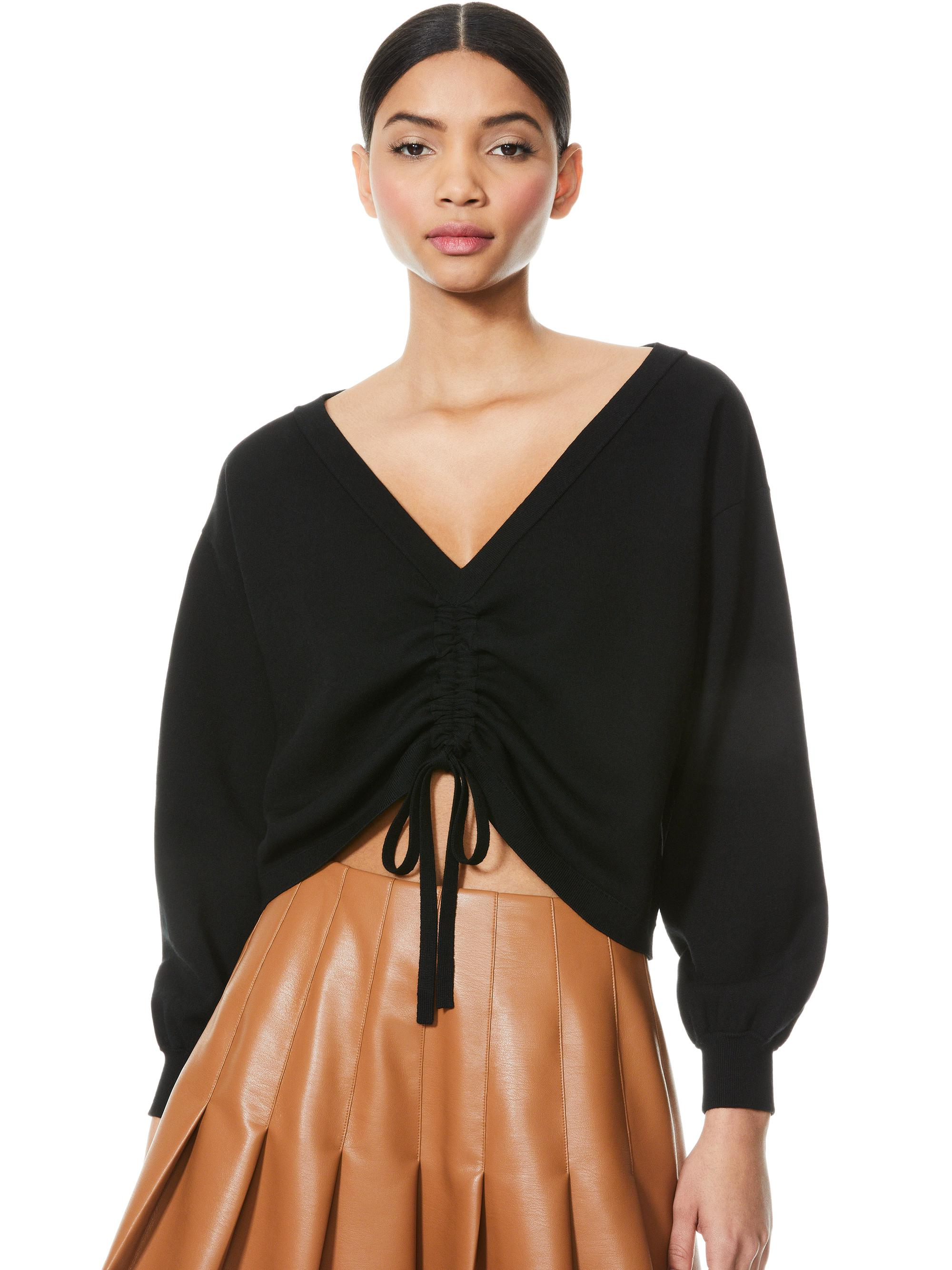 NORA REVERSIBLE DRAWCORD PULLOVER
