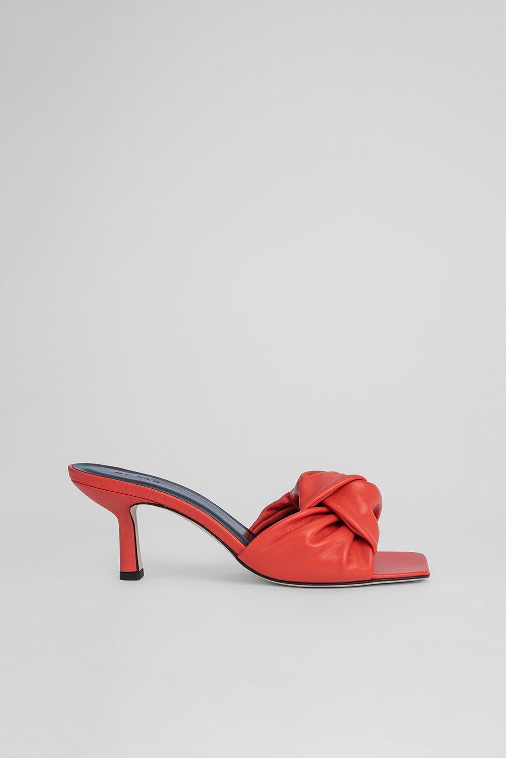 Lana Scarlet Smooth Calf Leather