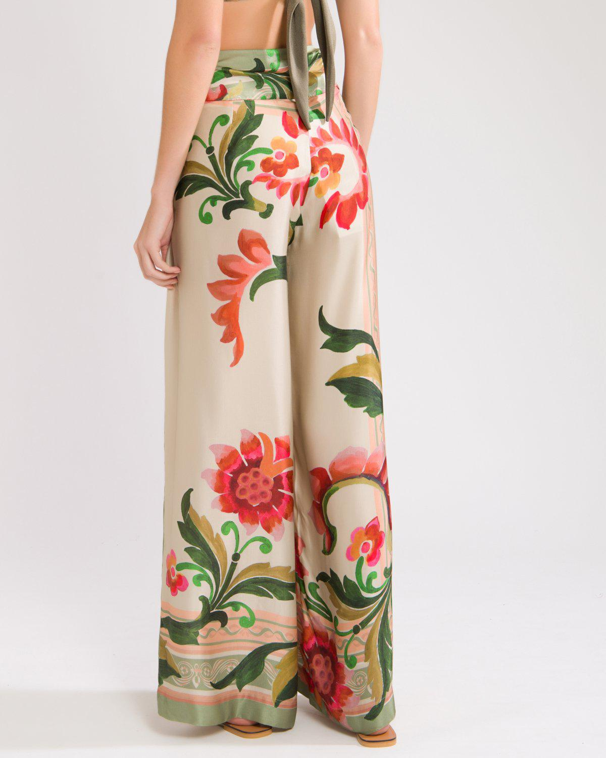DRAPE-FRONT CROPPED PANT 3