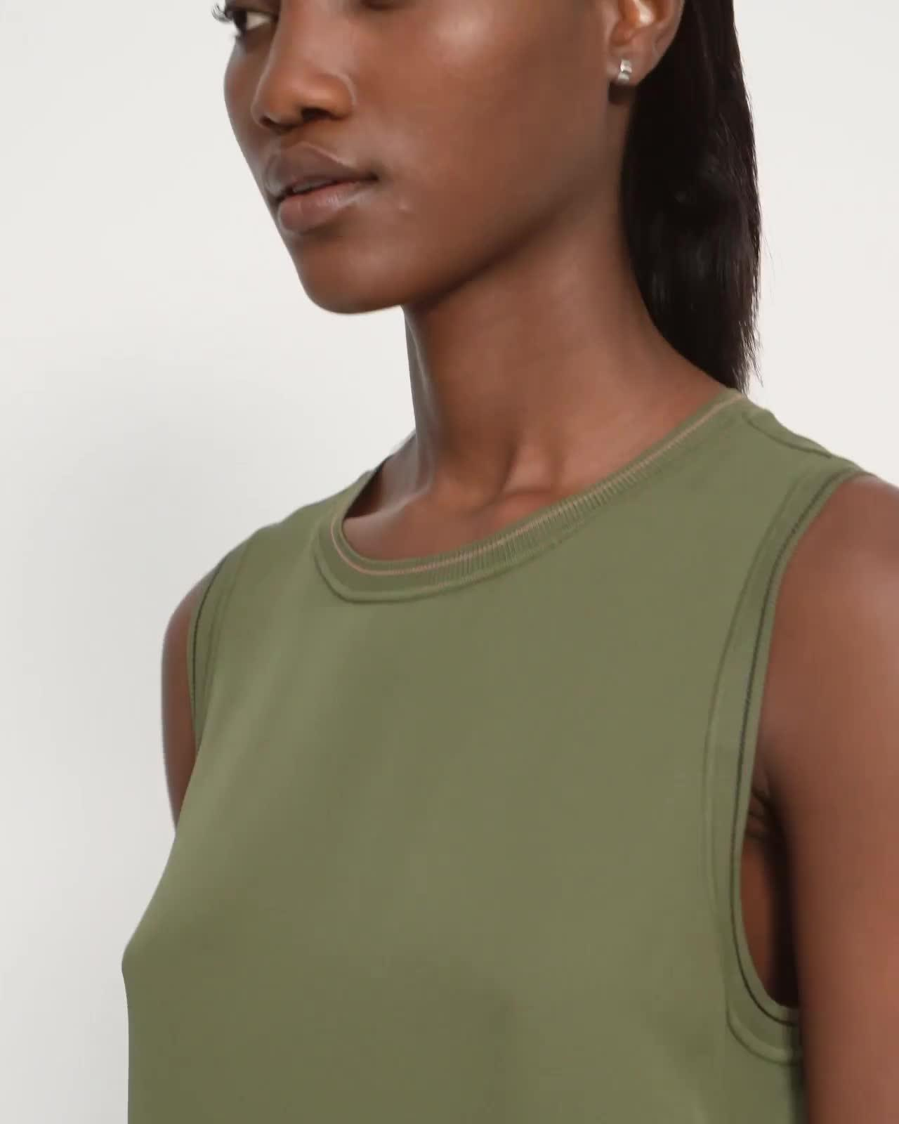 Combo Shell Top in Silk 4