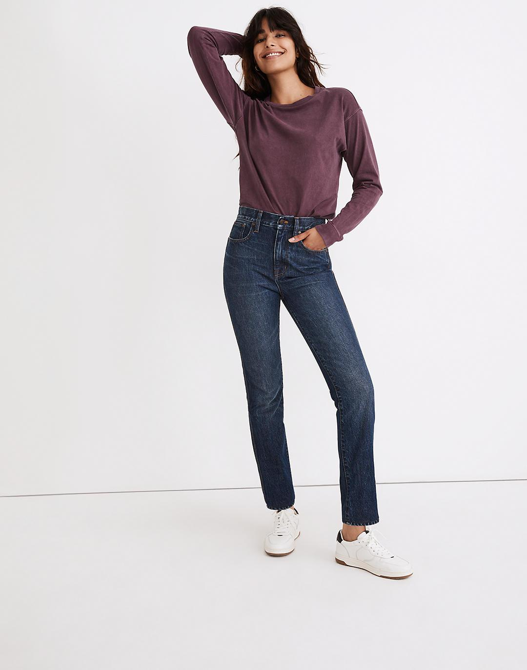 The Perfect Vintage Jean in Diversey Wash: Retro Stitched Edition