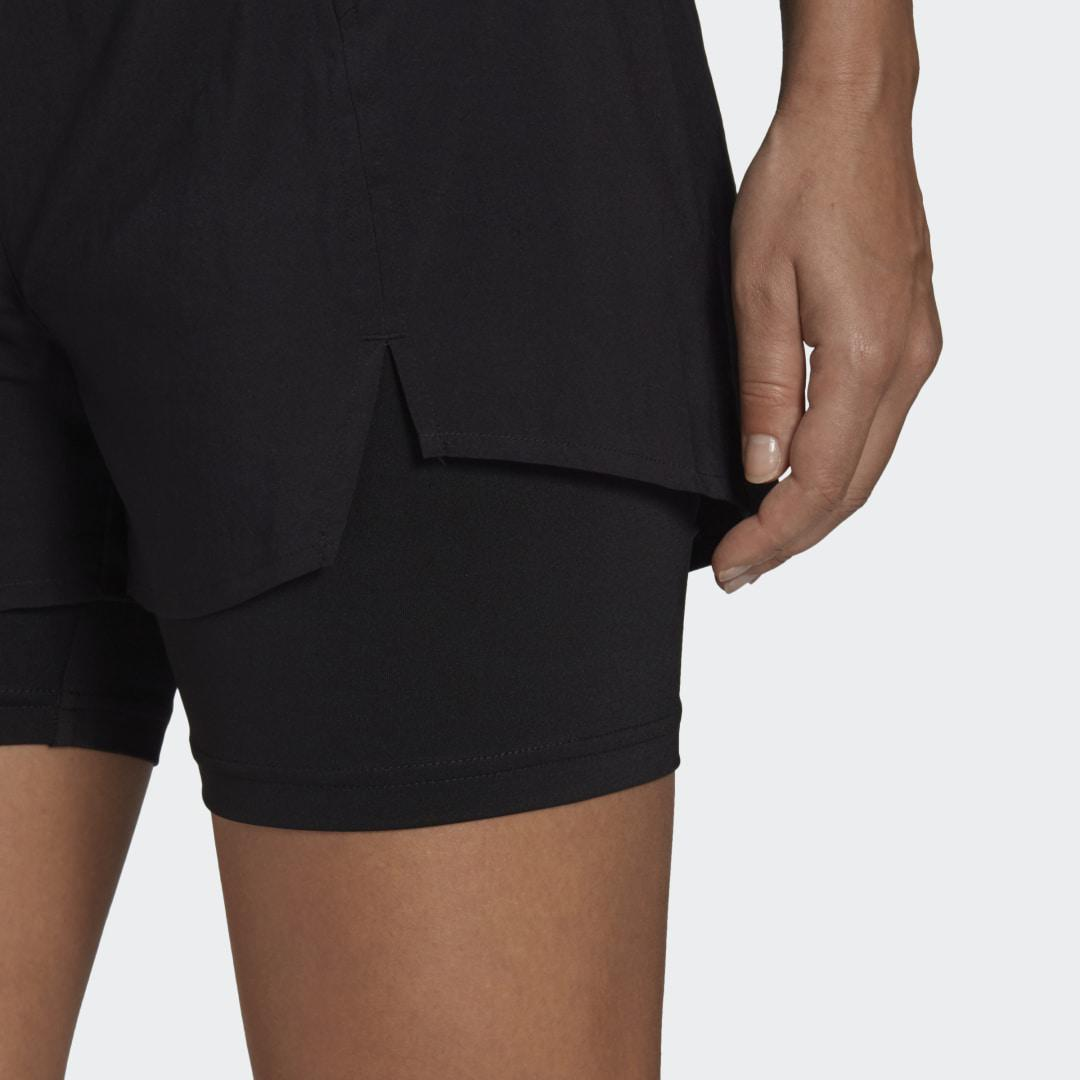 Primeblue Designed To Move 2-in-1 Sport Shorts Black XS - Womens Training Shorts 4