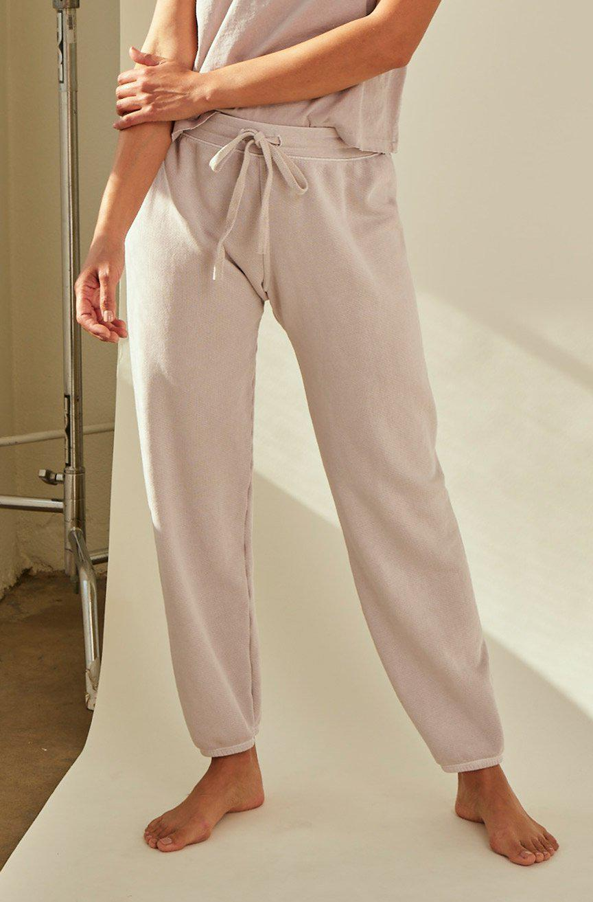 CROPPED SWEATPANT FAWN
