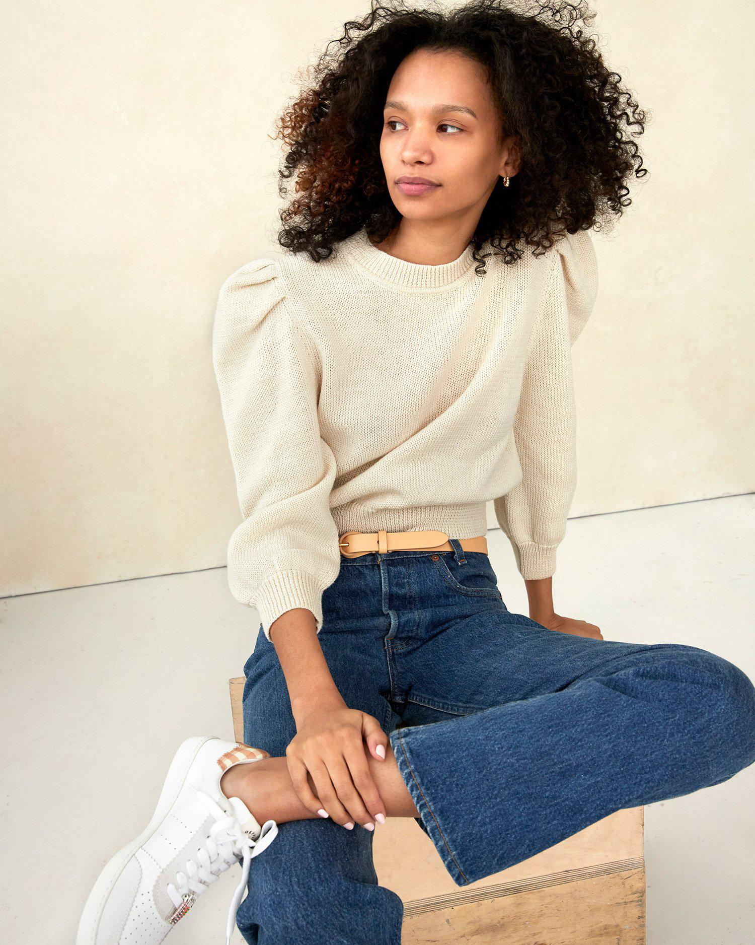 Knits for Good Cream Sweater 4