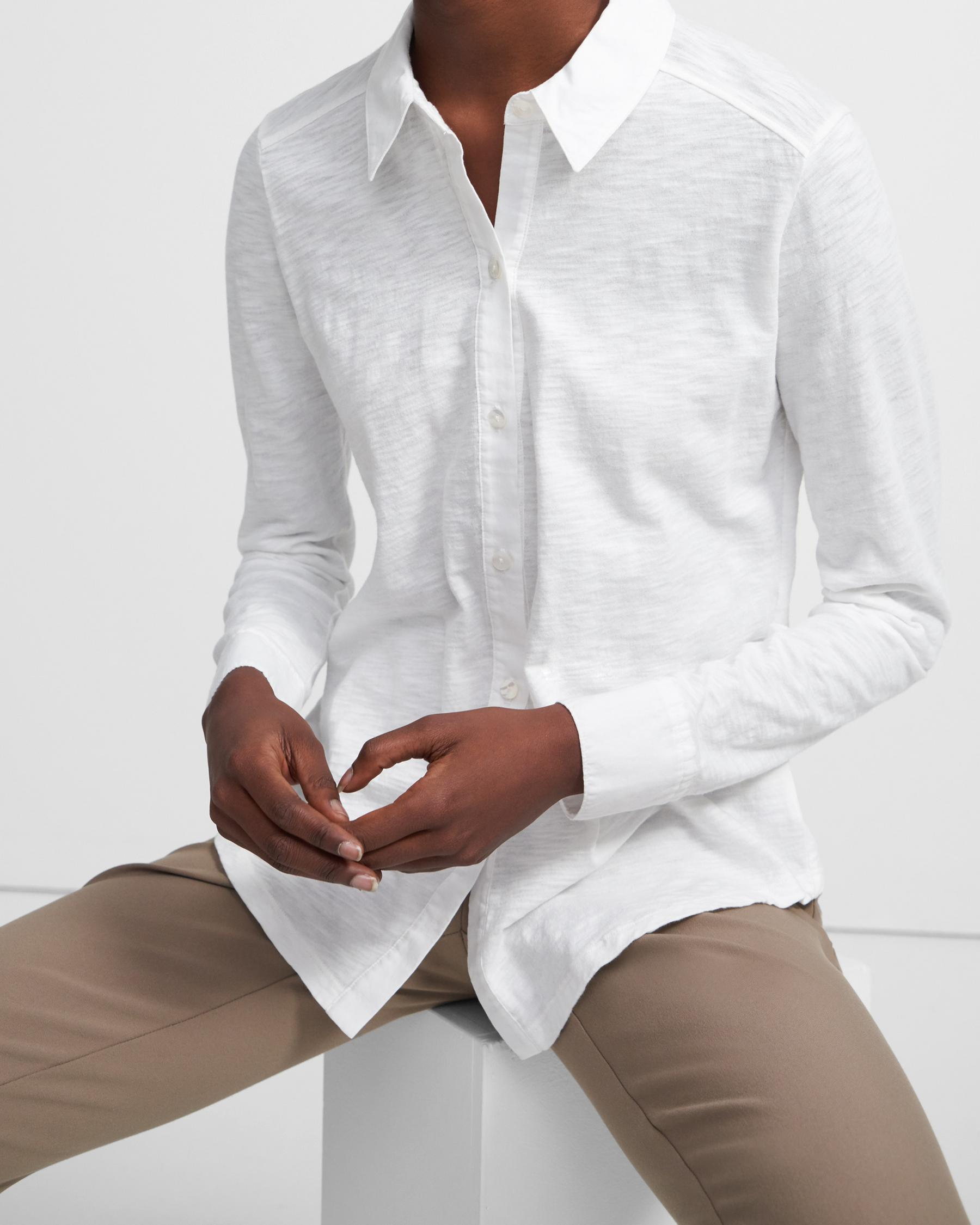 Button Up Shirt in Organic Cotton 2