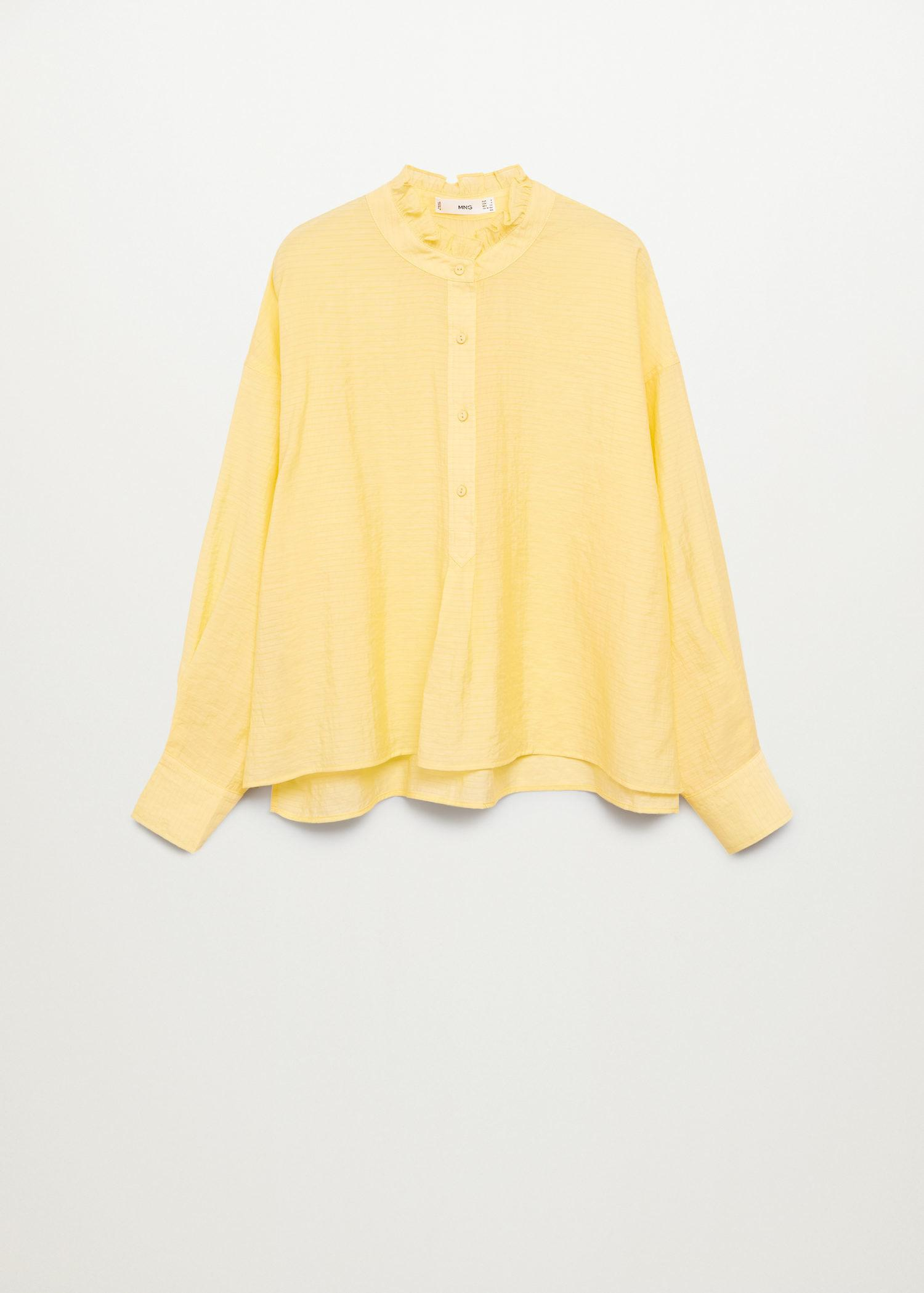 Textured flowy blouse 7