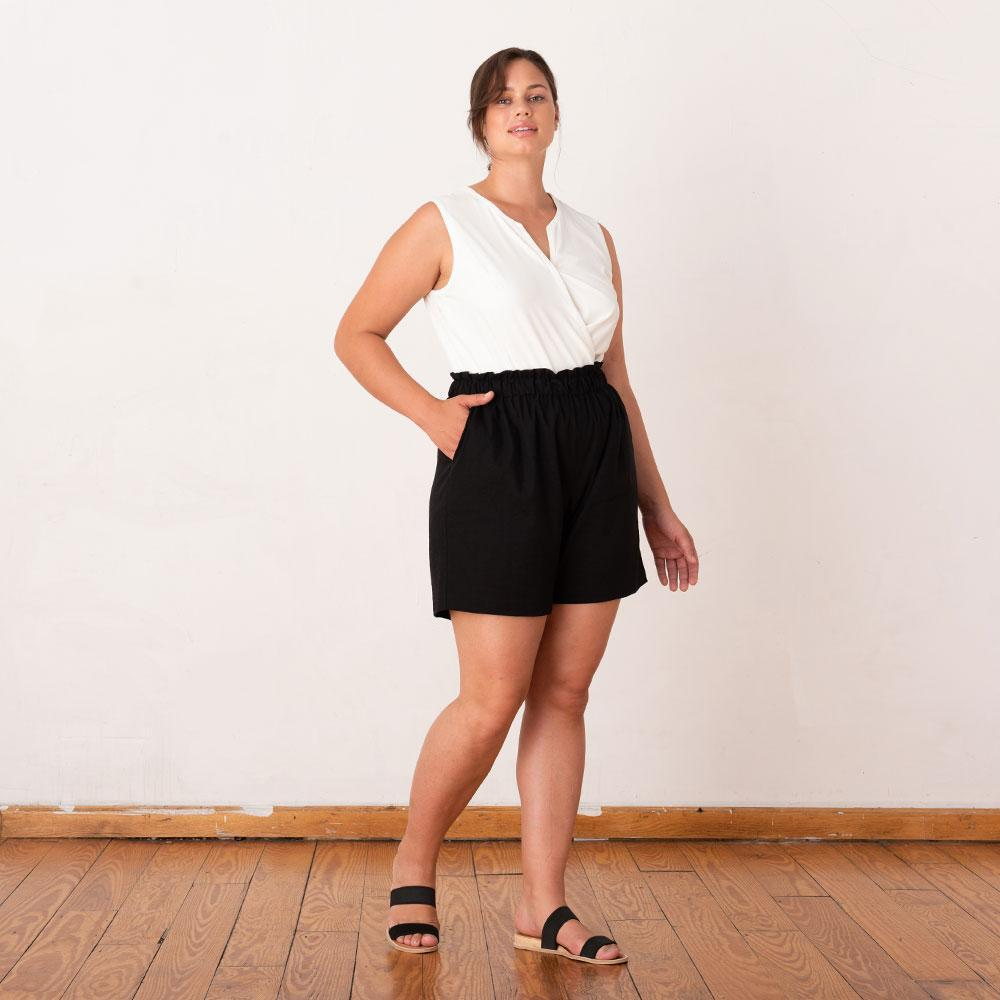 Ease In Paperbag Shorts 2