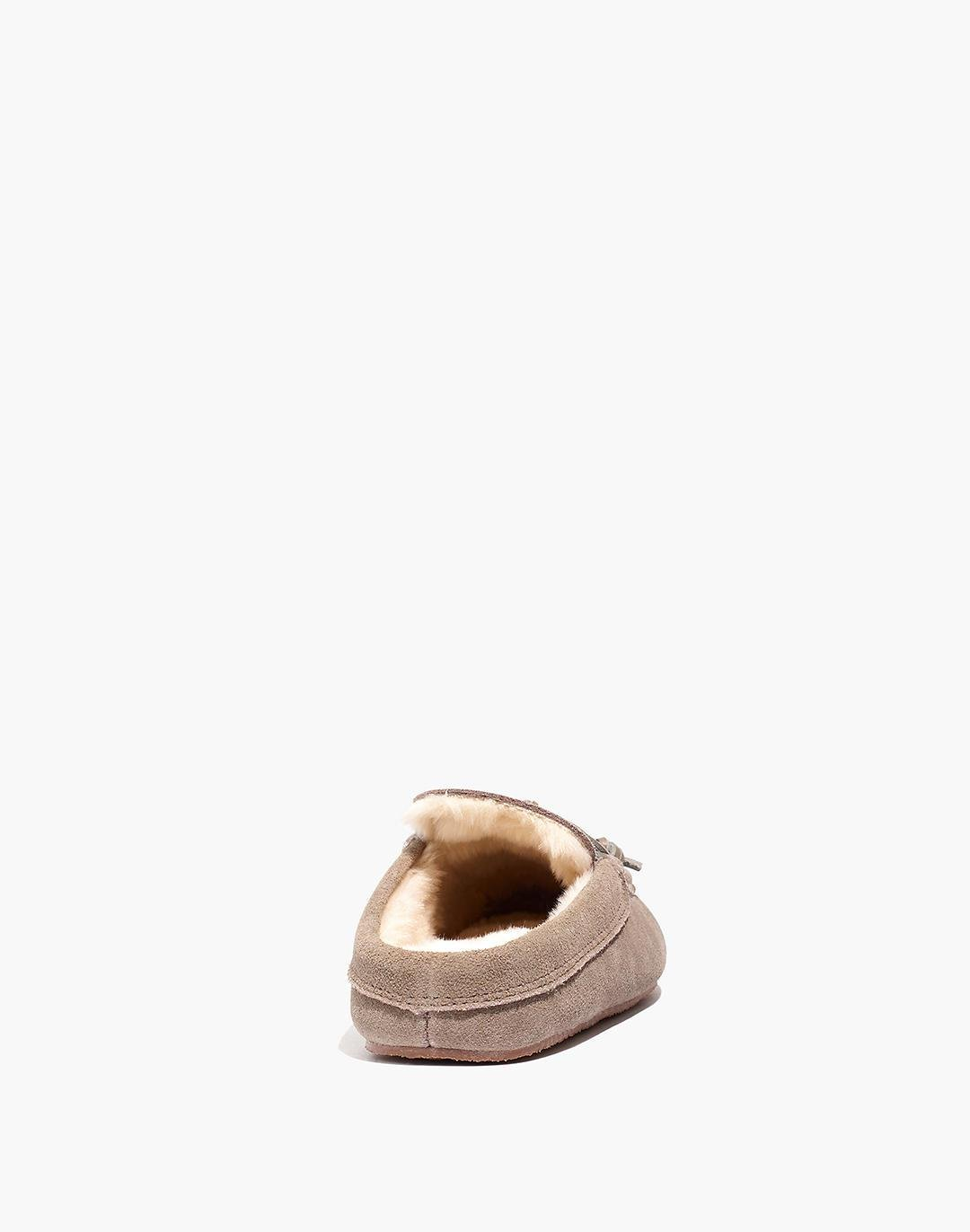 Suede Moccasin Scuff Slippers 2
