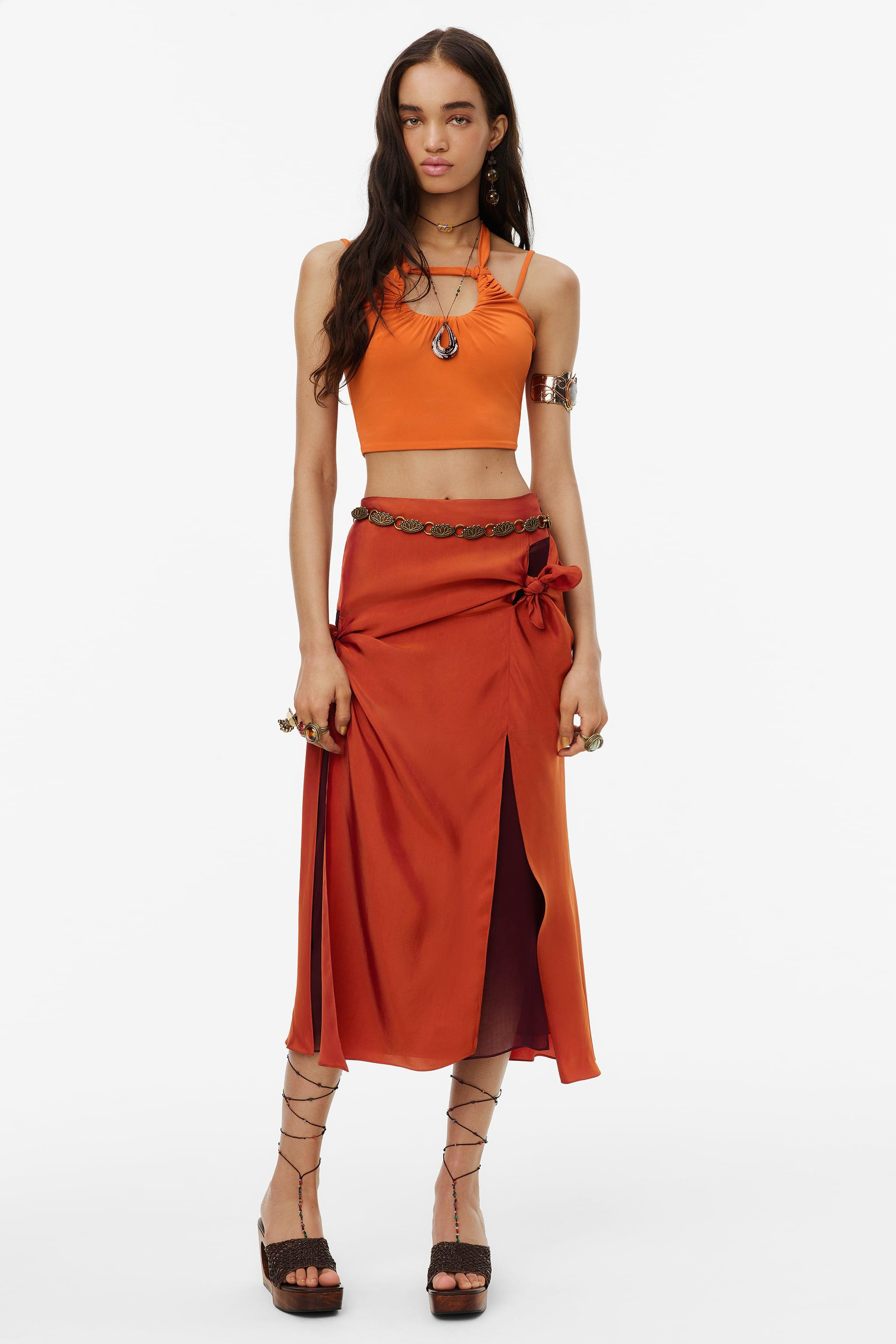 KNOTTED SKIRT LIMITED EDITION