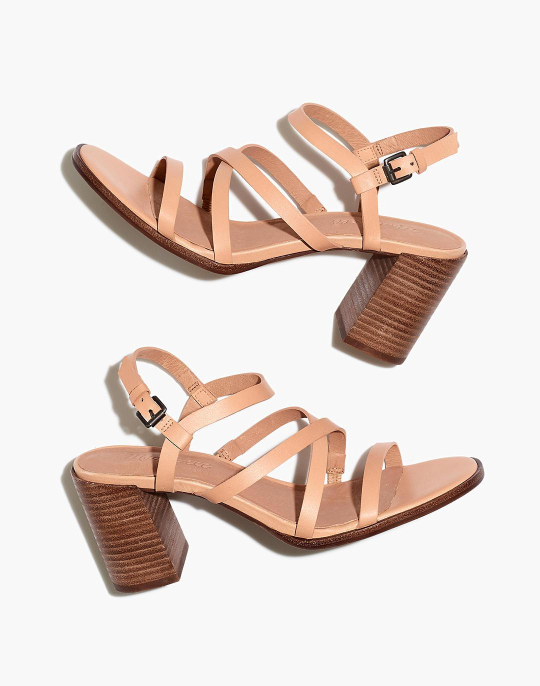 The Edie Sandal in Leather