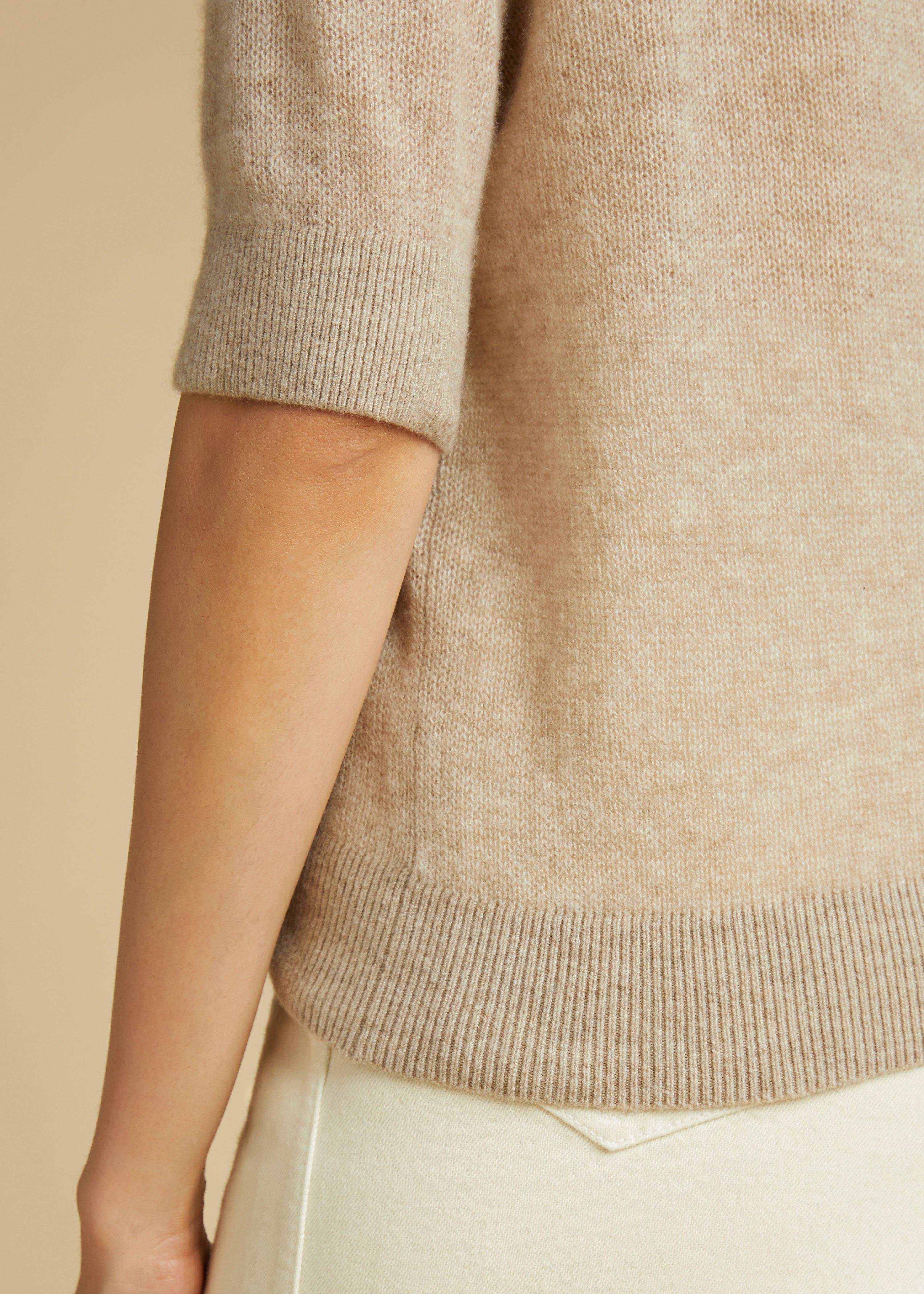 The Dianna Sweater in Powder 3