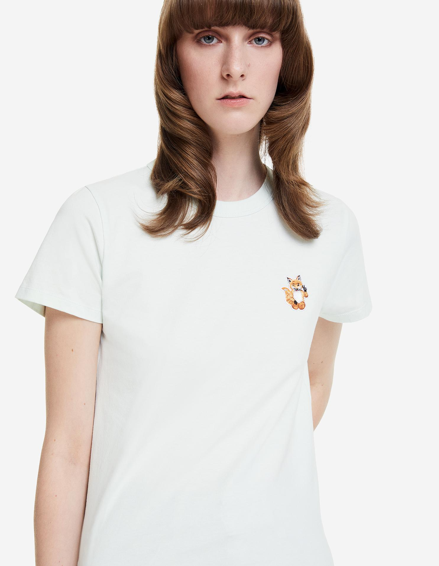 ALL RIGHT FOX PATCH CLASSIC TEE-SHIRT 2