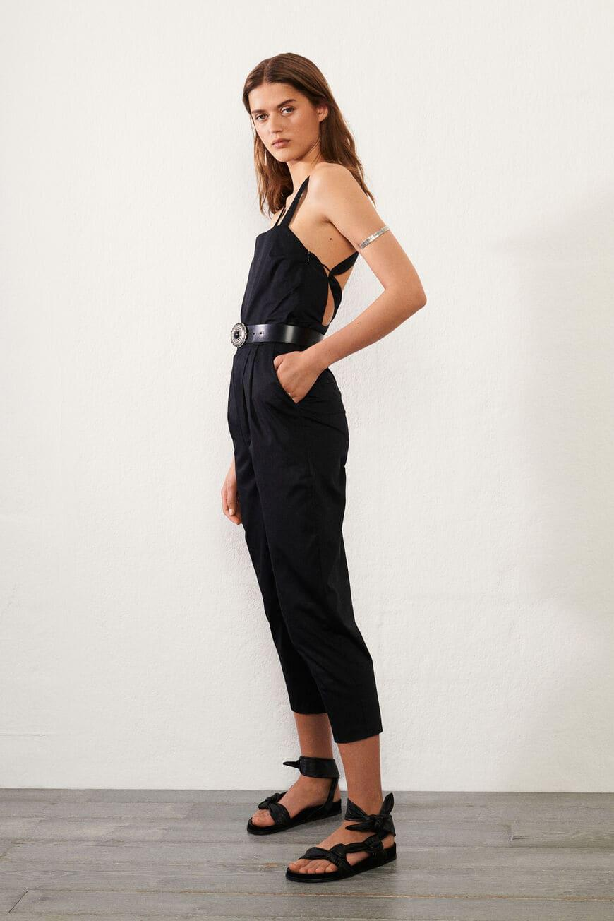 chad.BACKLESS JUMPSUIT