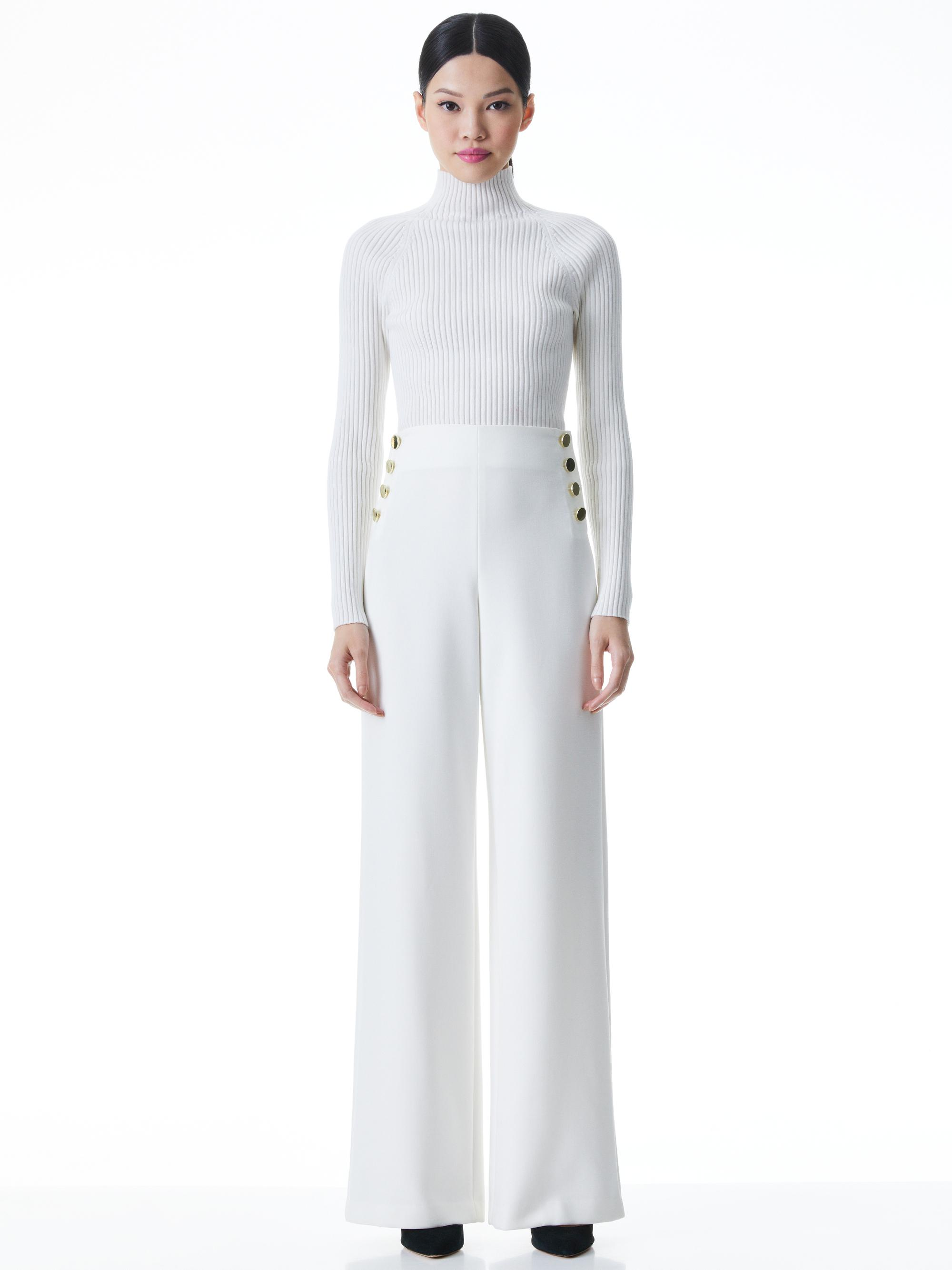 IRENA MOCK NECK CROPPED PULLOVER 6