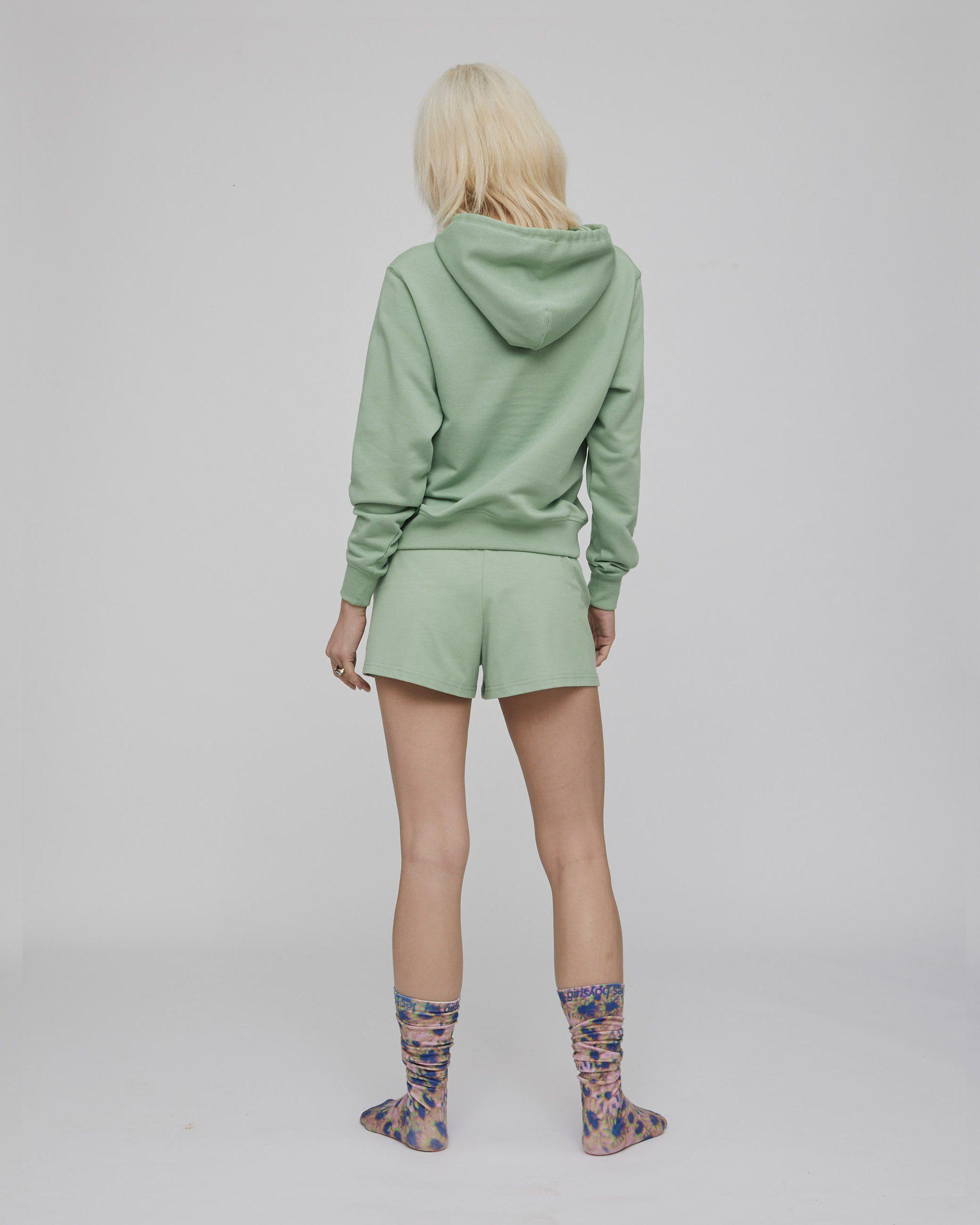 deconstructed loose shorts sage 2