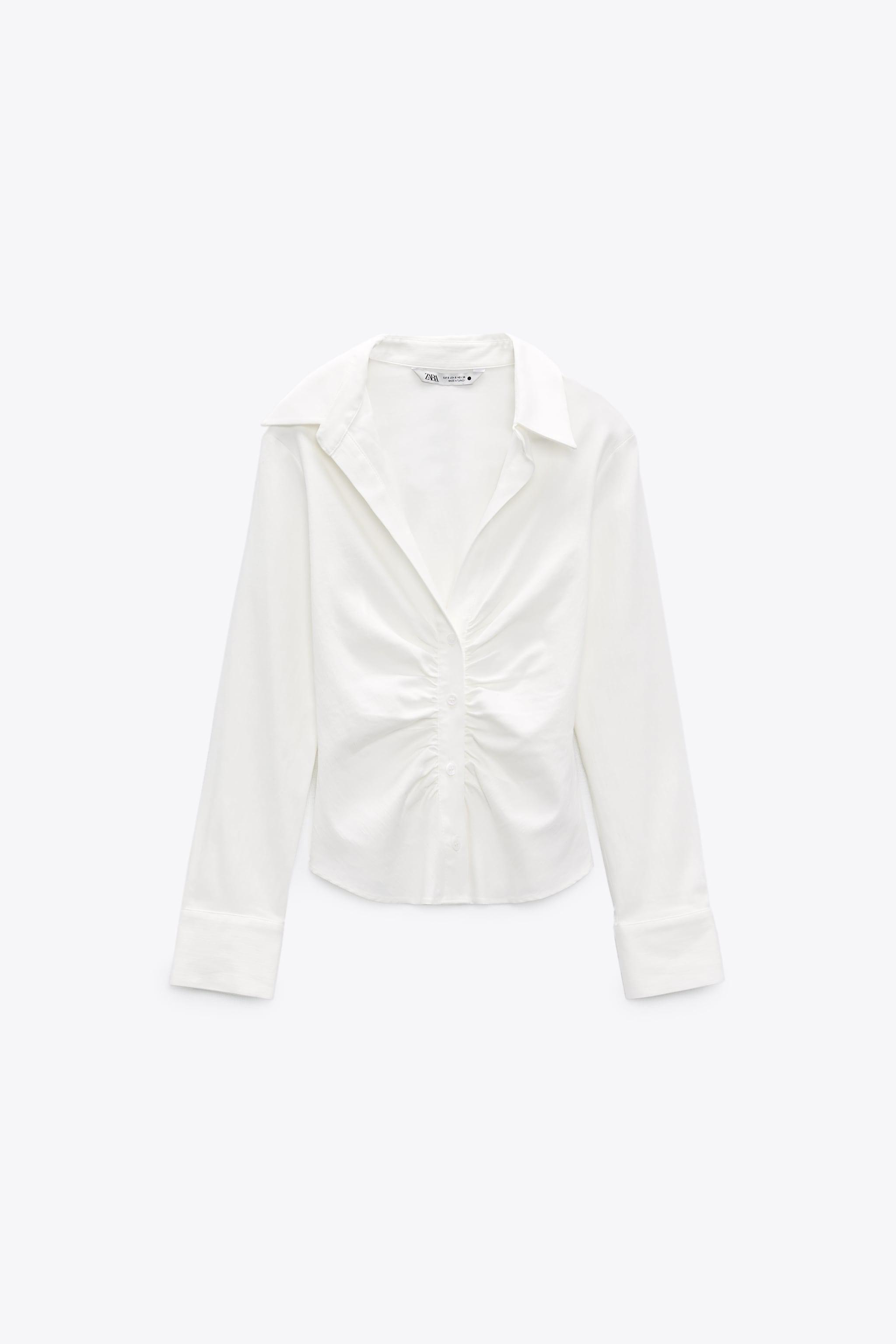 PLEATED TAILORED SHIRT 4