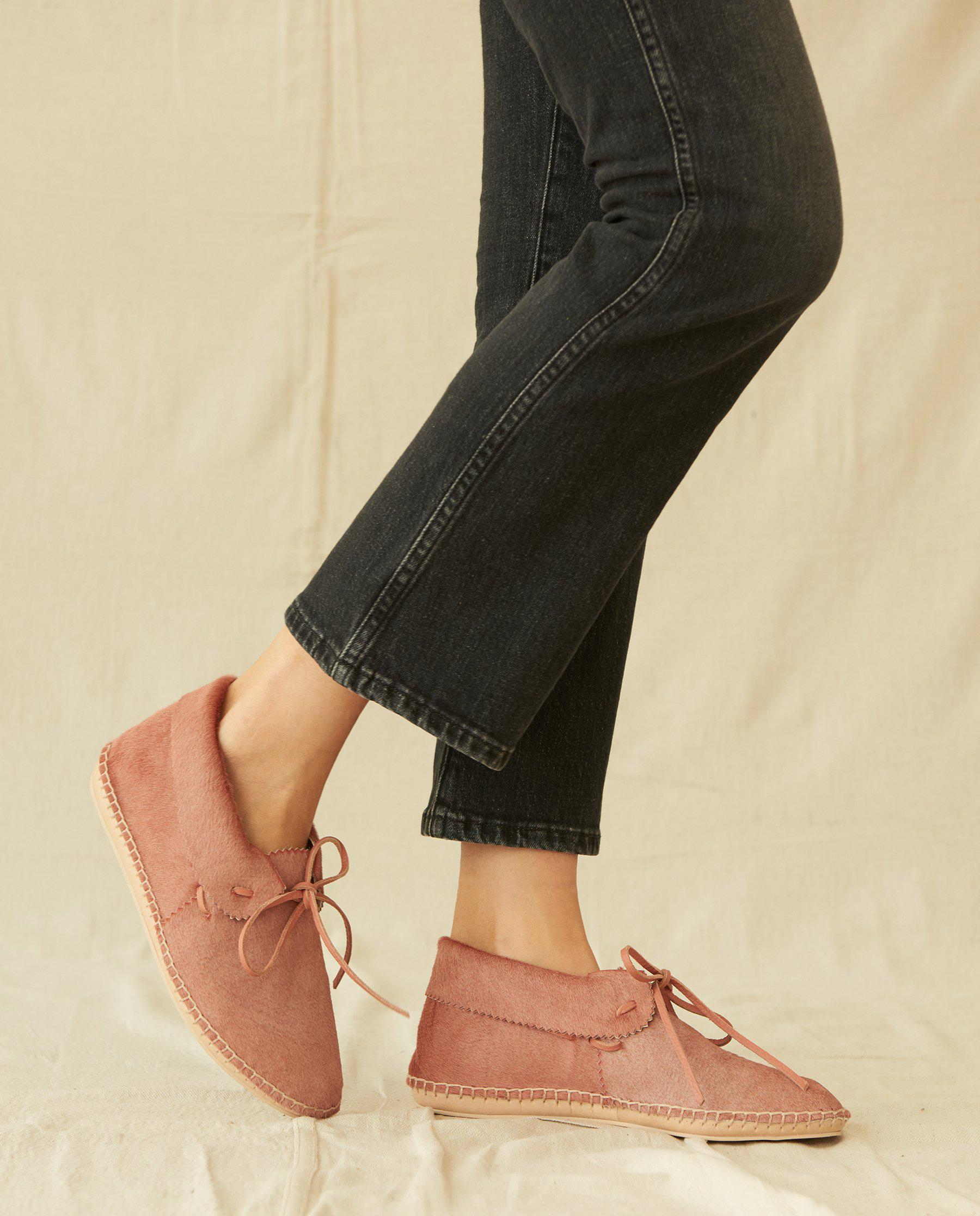 The Canyon Moccasin. -- Dusty Rose 2