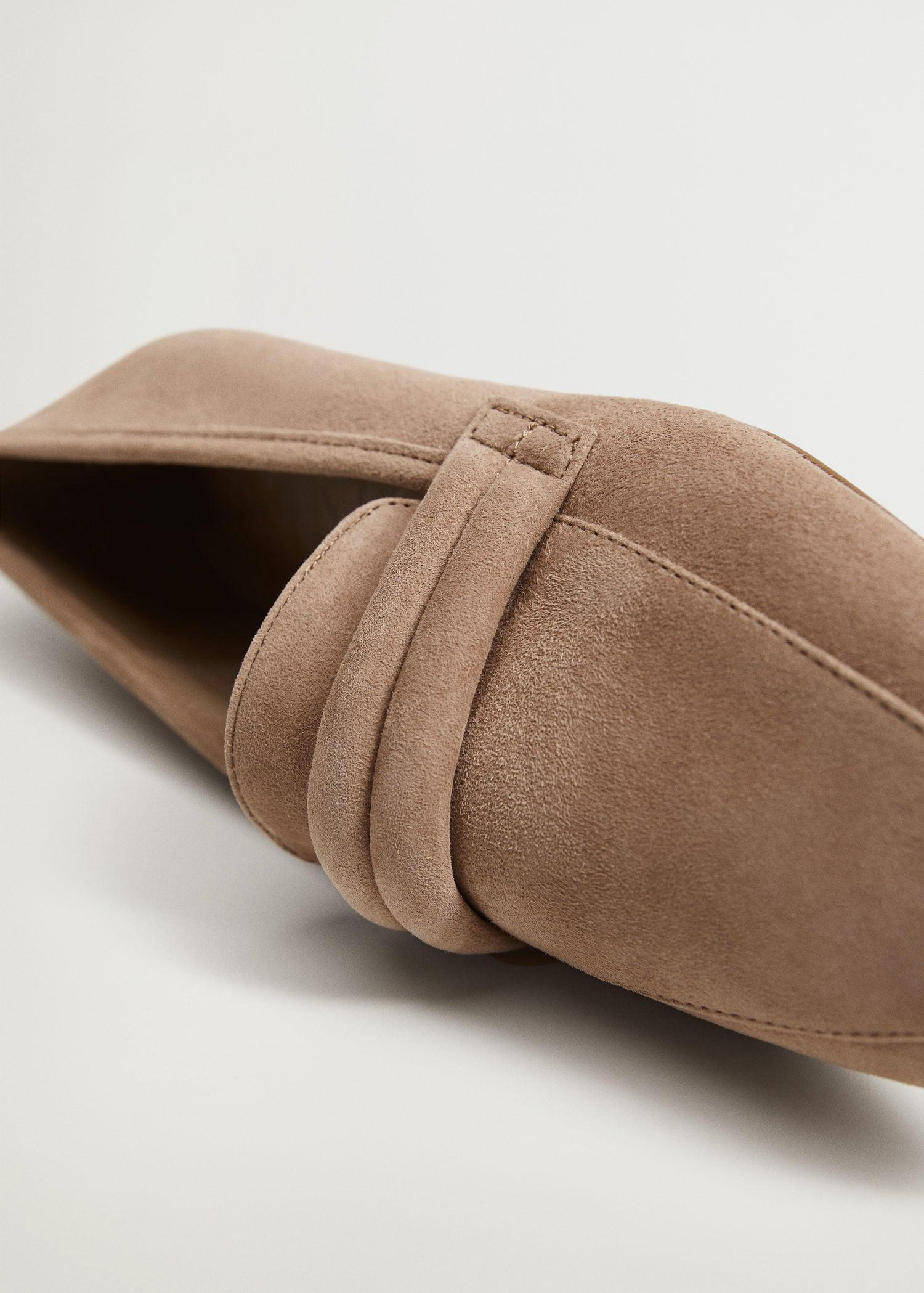 Leather penny loafers 1