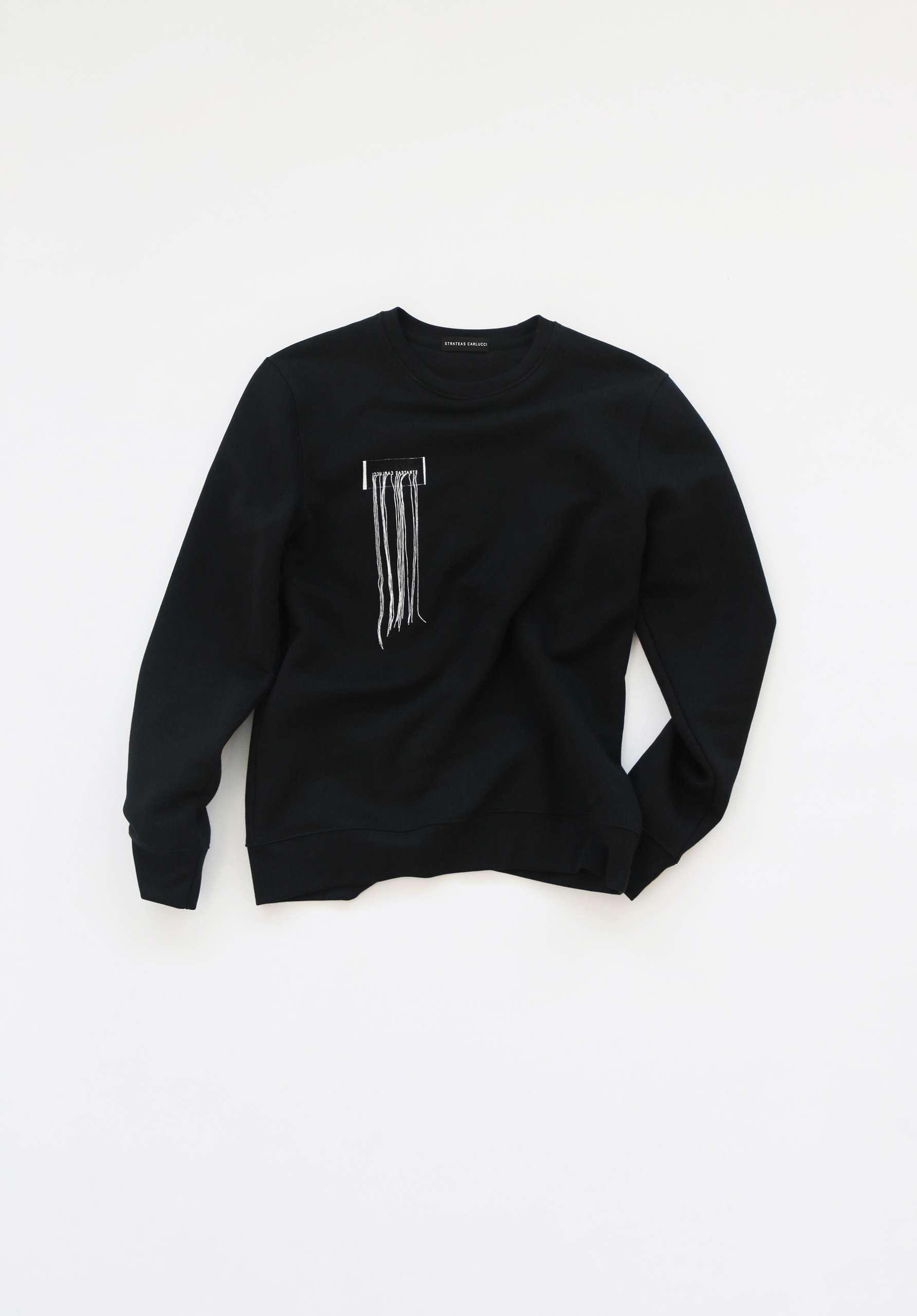 CARBON SWEATER – FRAYED W 5