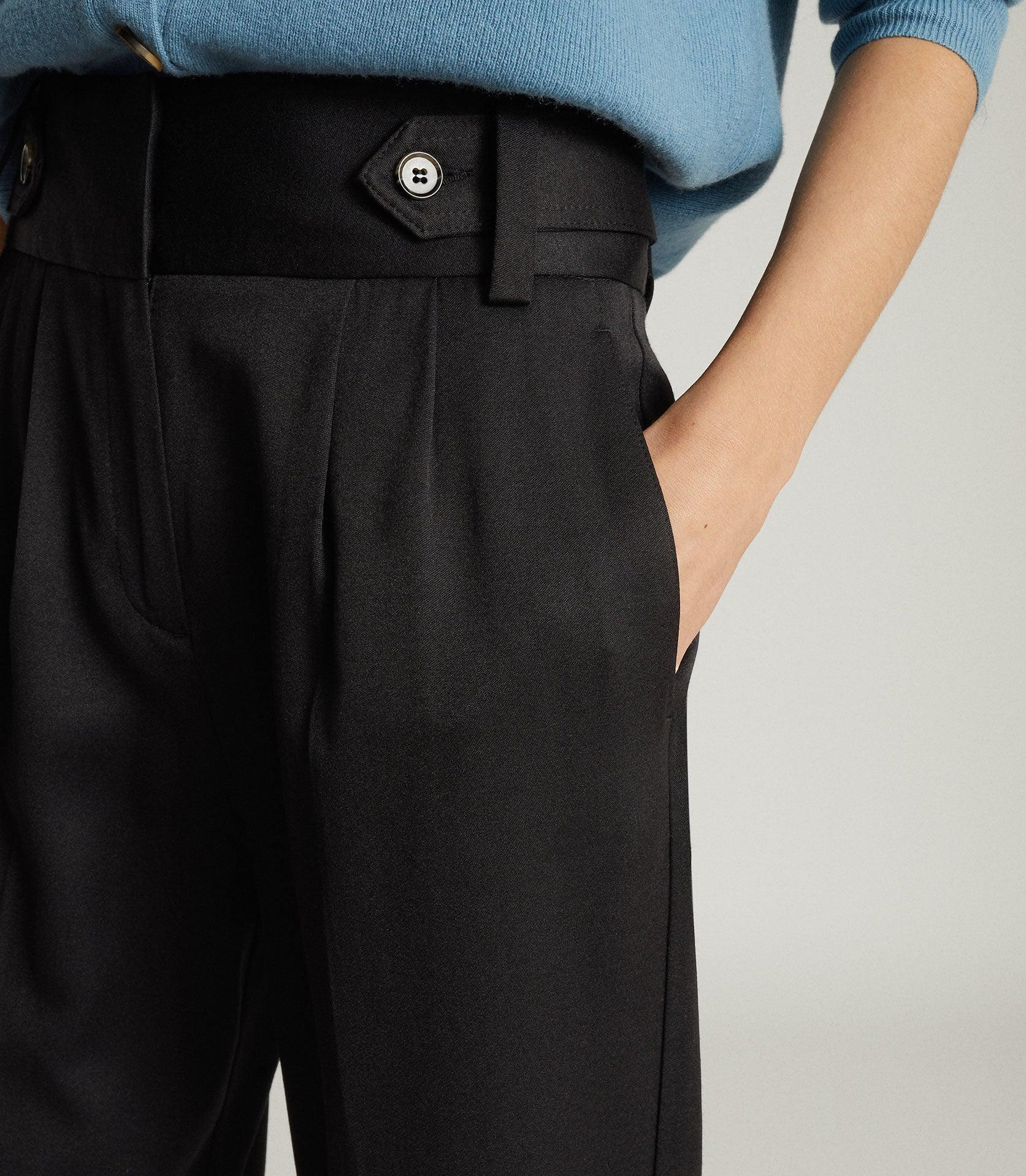 STANTON - CROPPED TAPERED PANTS 4