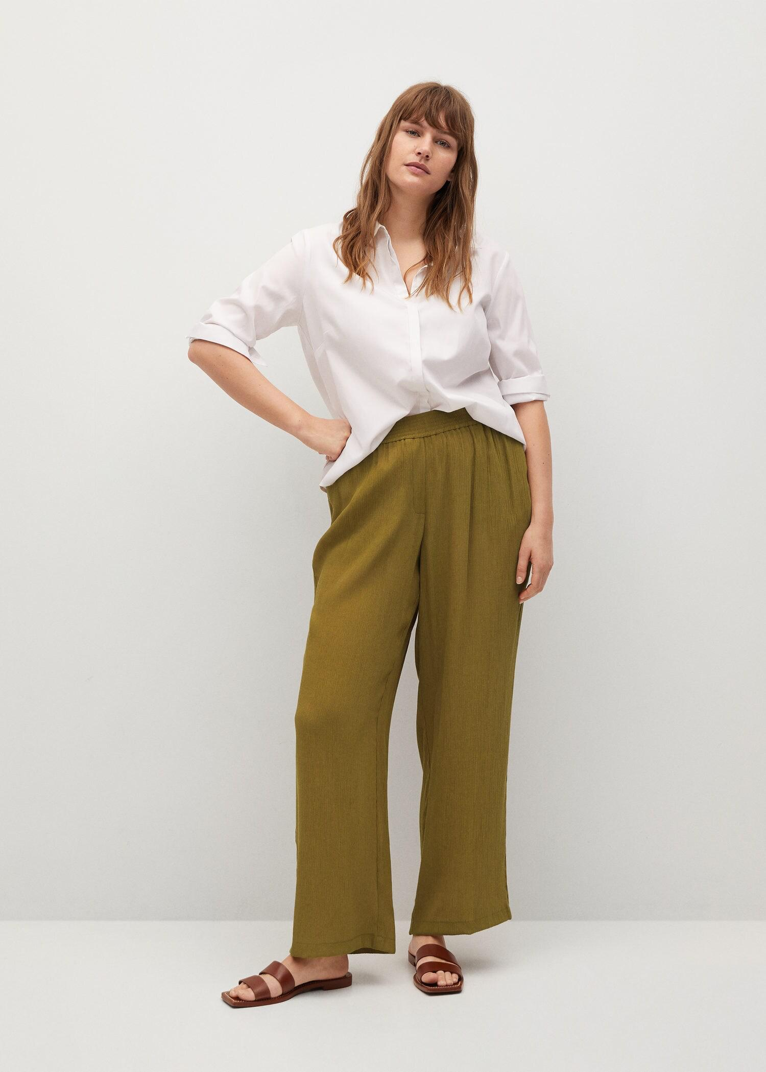 Flowy flared pants