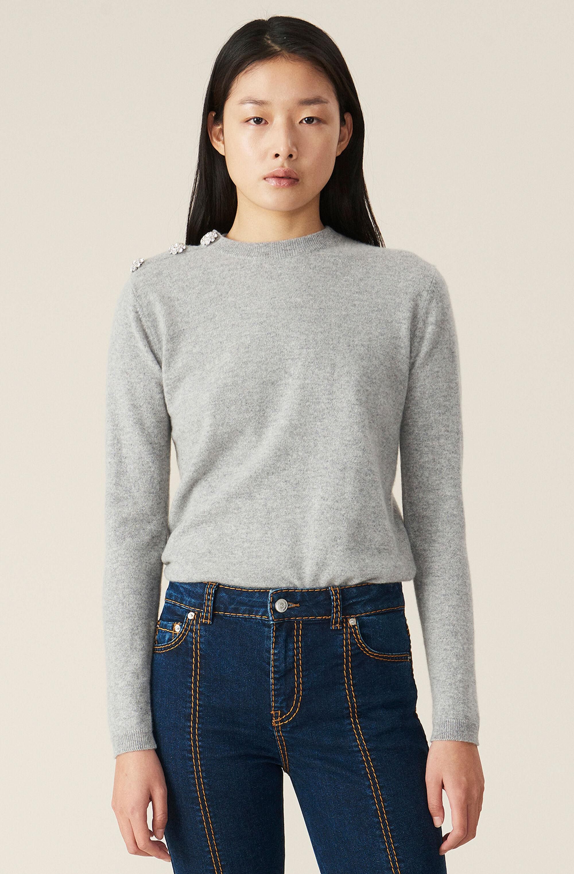 Cashmere Knit Pullover - Solid 0