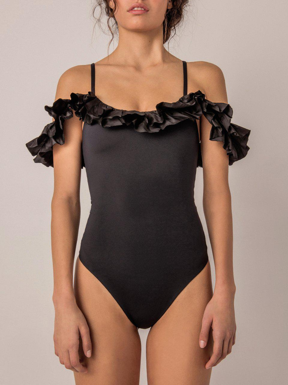Peony Off-The-Shoulders One-Piece