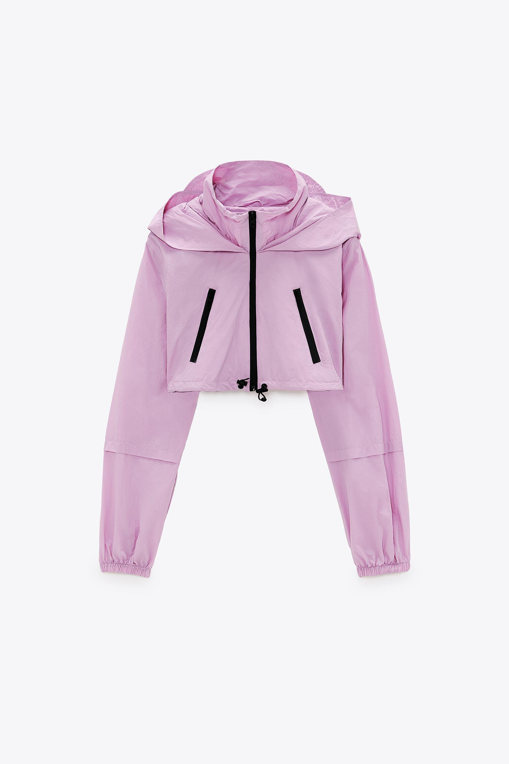 CROPPED RAINCOAT WITH ZIPPERS 4