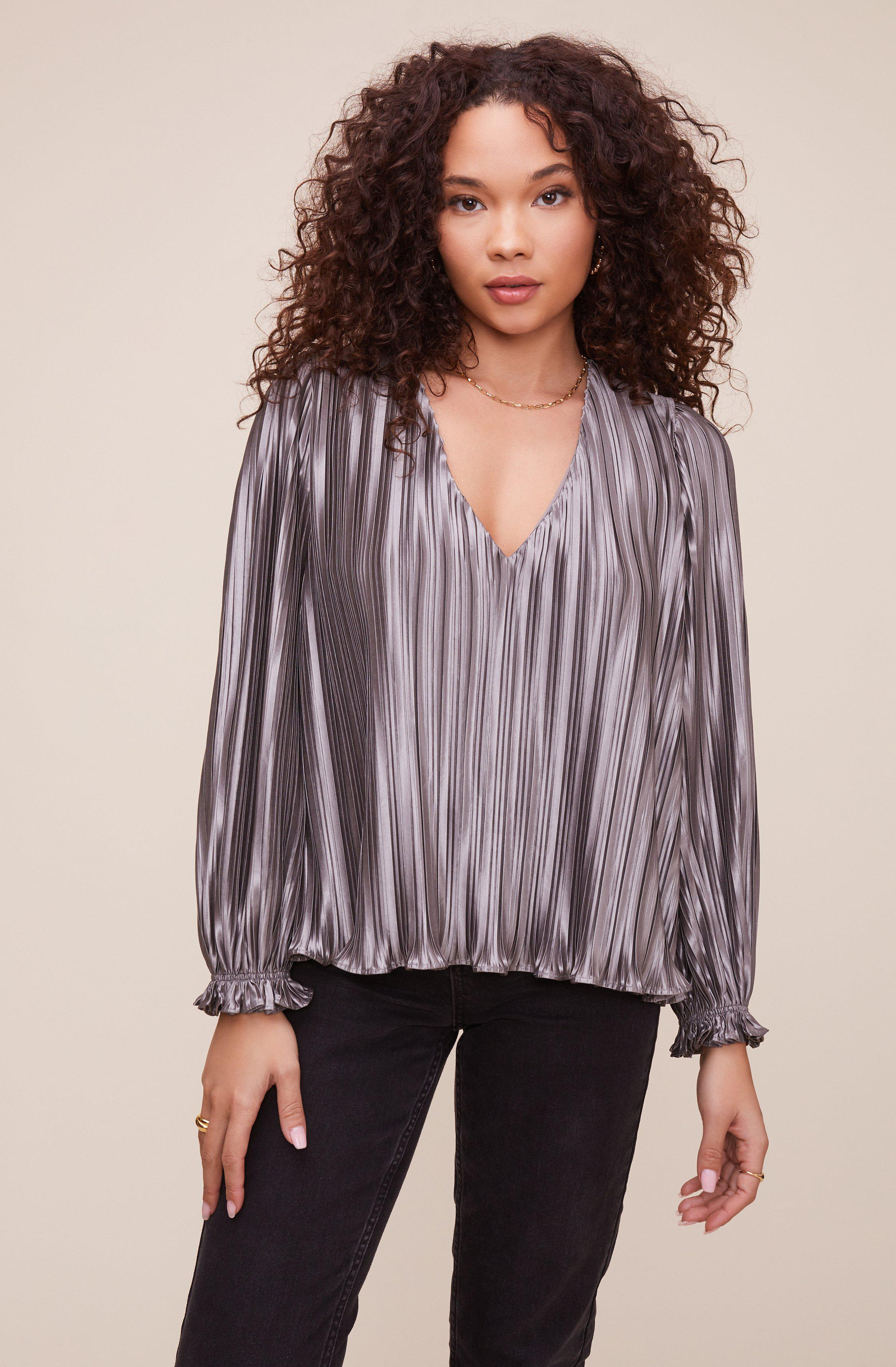 Holly Pleated Top