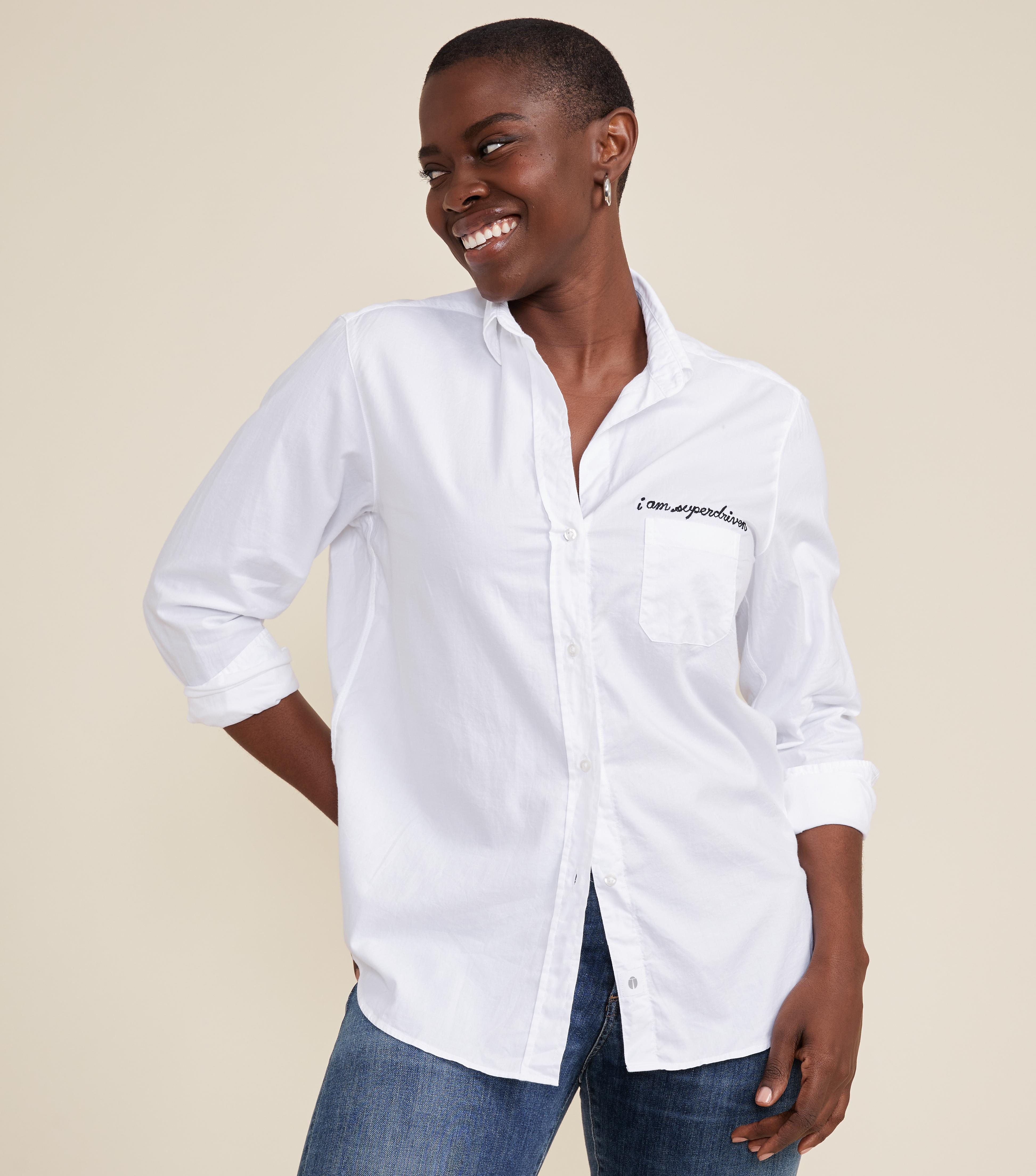 The Hero Button-Up Shirt Driven, Brushed Cotton
