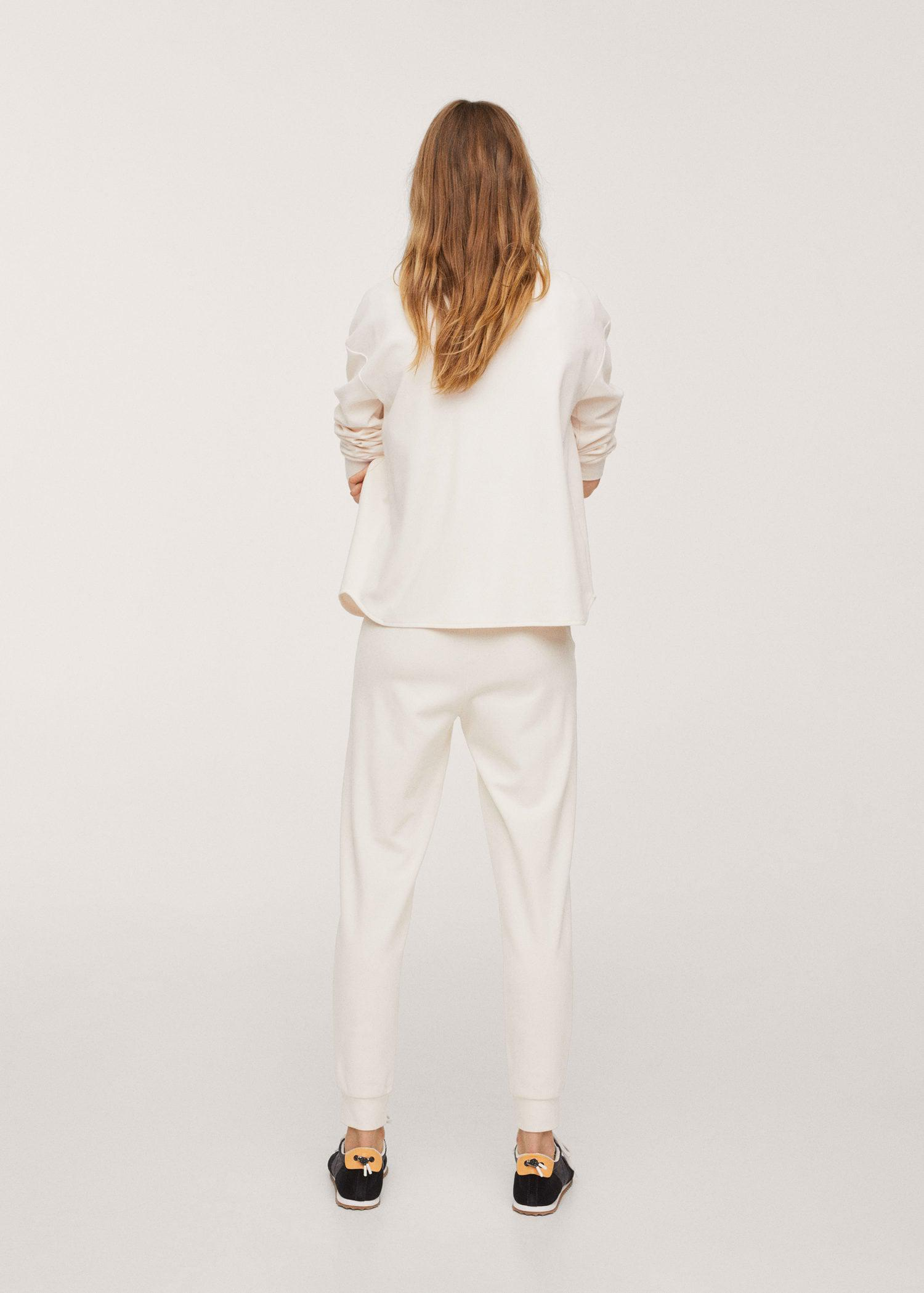 Cotton jogger-style trousers 2