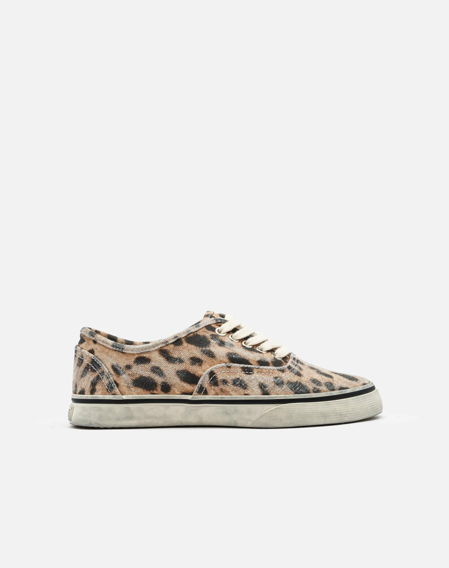 70s Low Top Skate - Faded Leopard Print