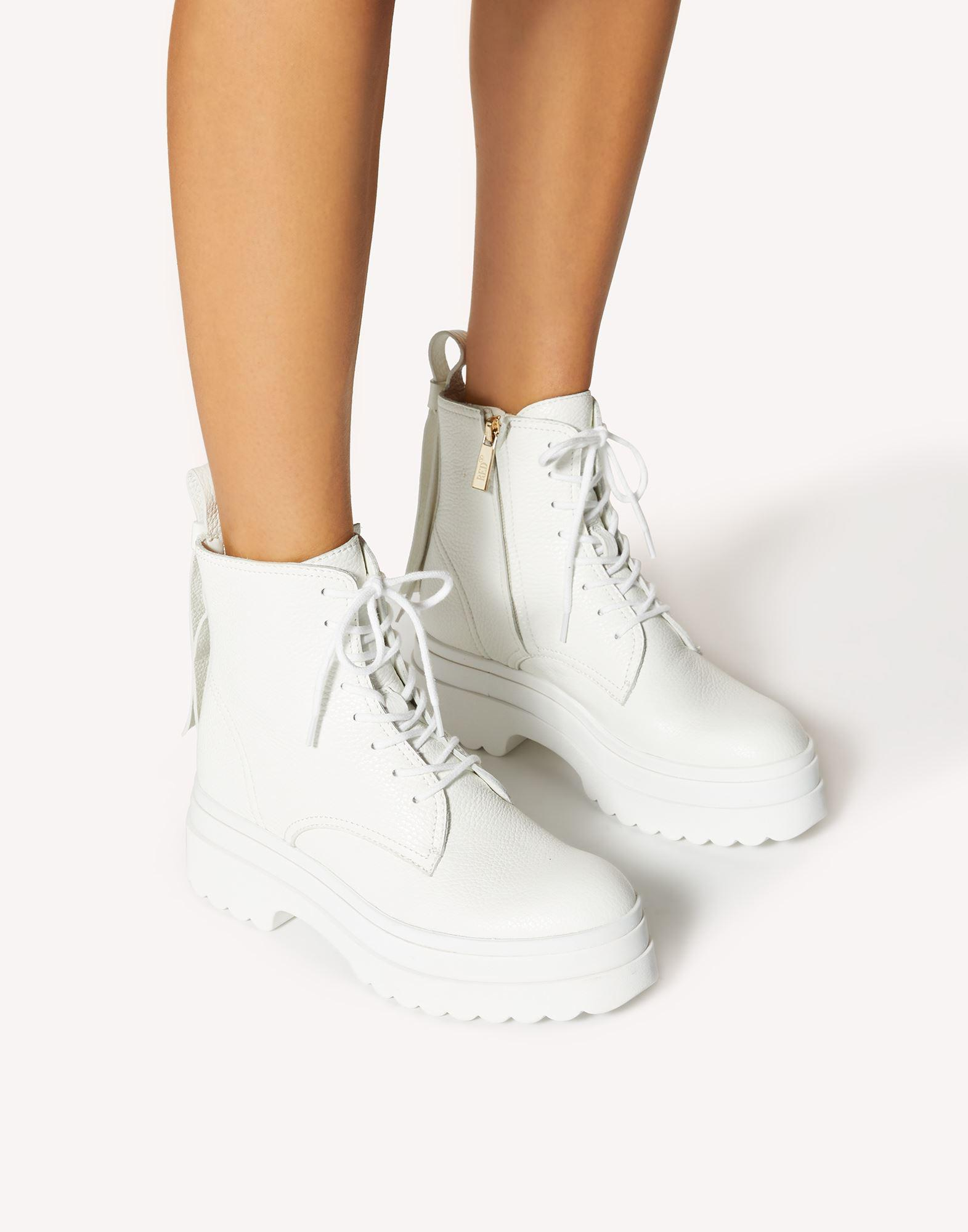 LYE(RED) SOLE COMBAT BOOT 5