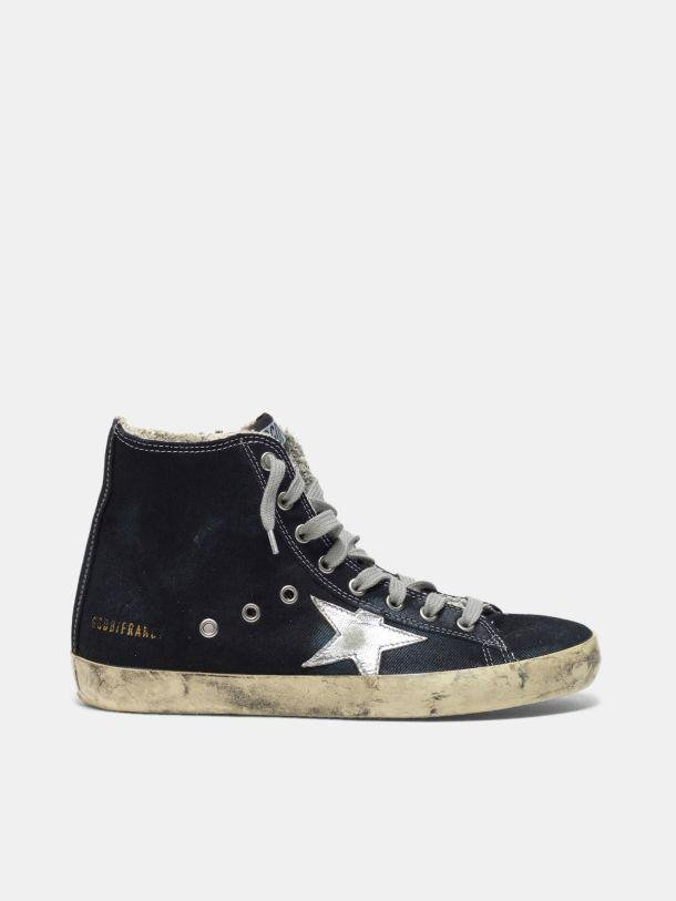 Francy sneakers in canvas with laminated star