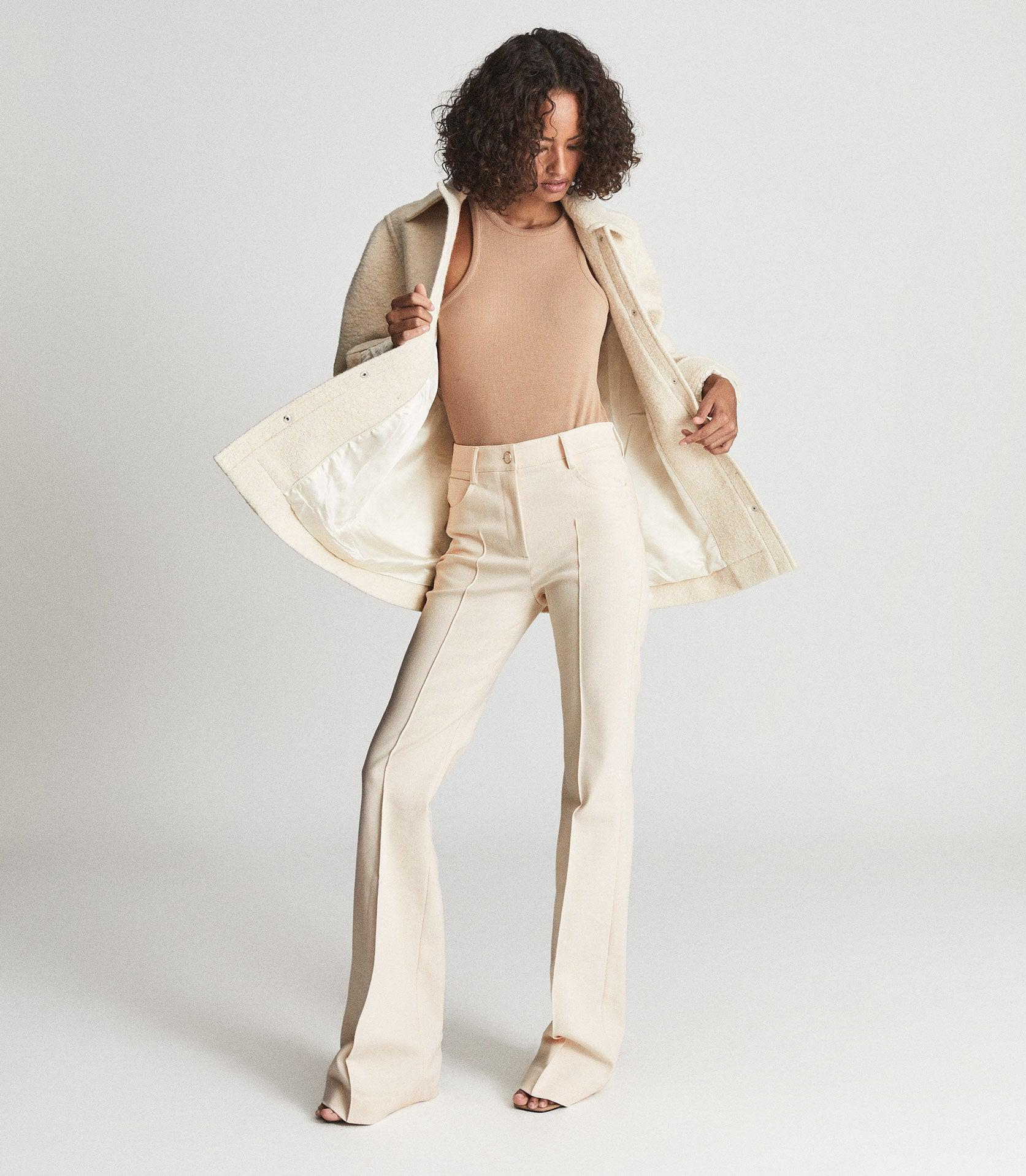 FLORENCE - HIGH RISE FLARED TROUSERS 4